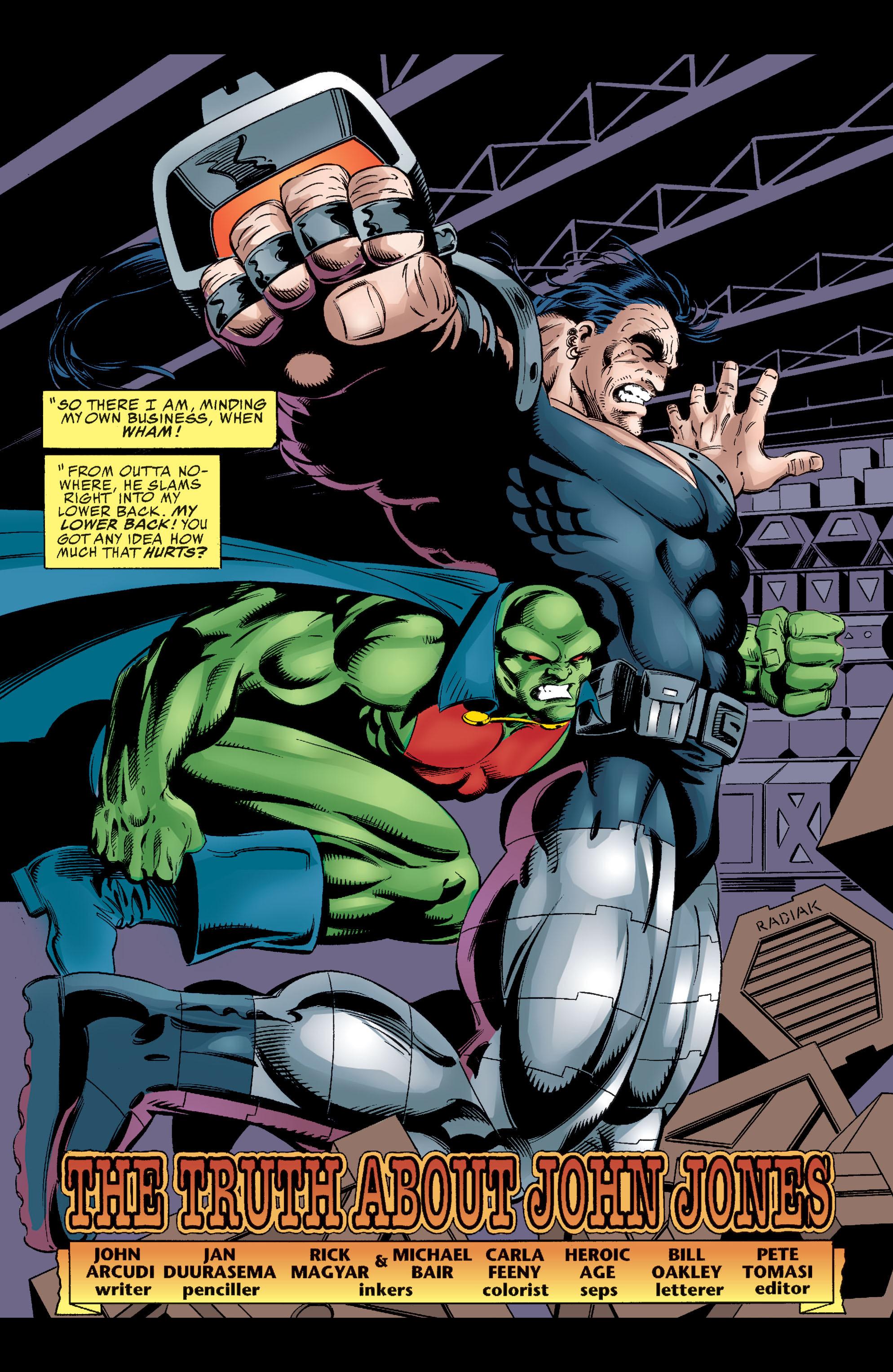 Read online Martian Manhunter: Son of Mars comic -  Issue # TPB - 122