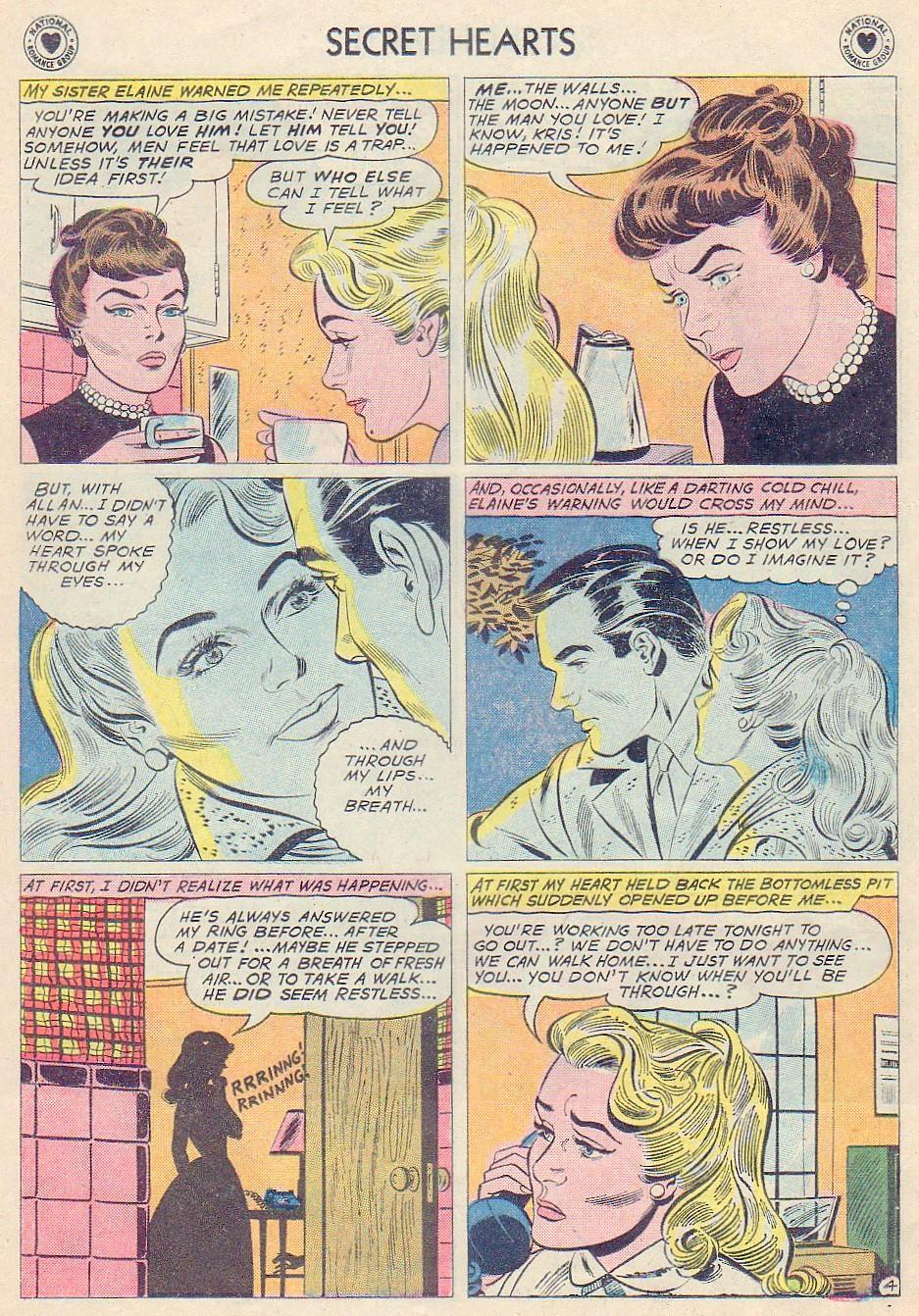 Read online Secret Hearts comic -  Issue #72 - 30