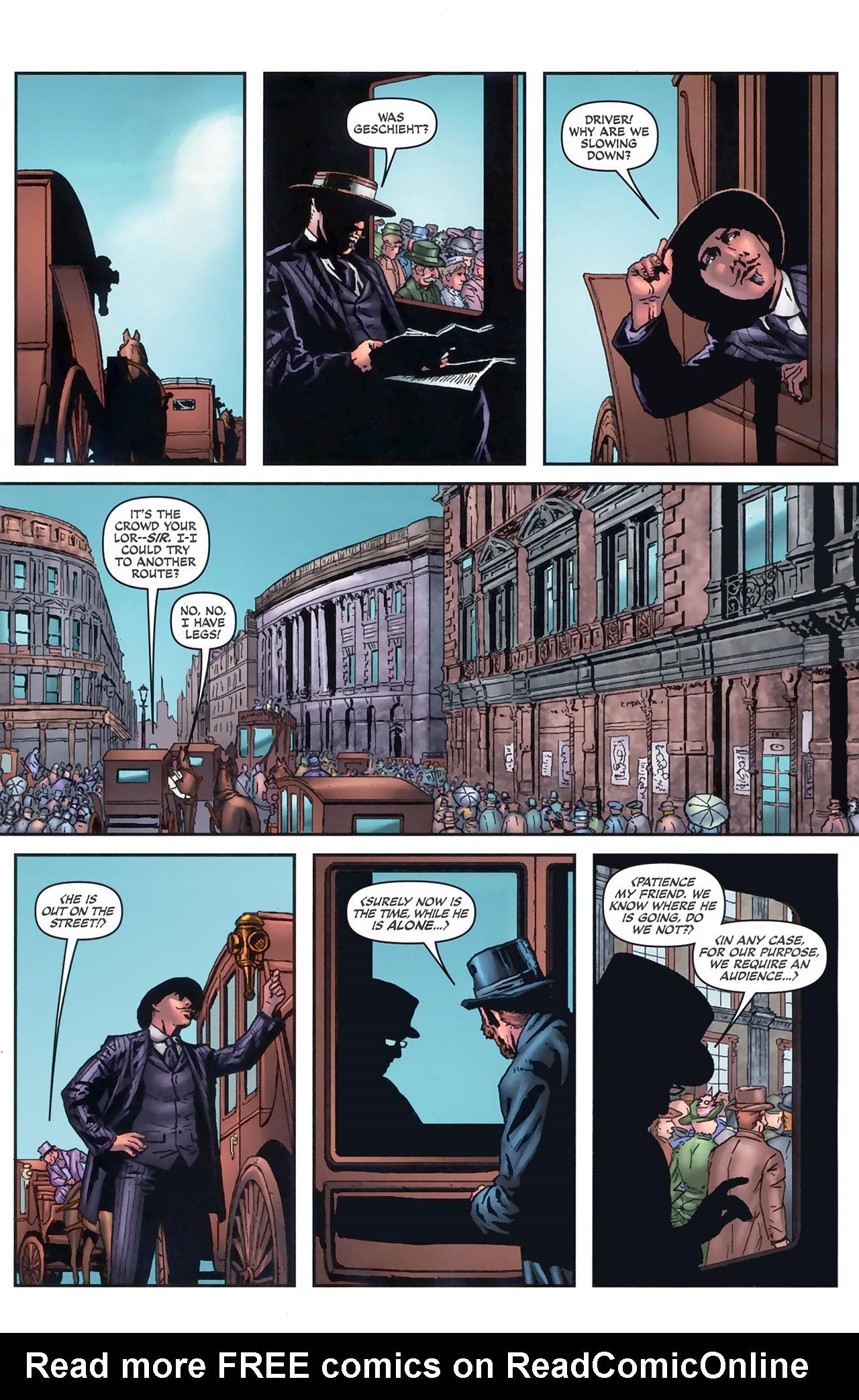Read online Sherlock Holmes (2009) comic -  Issue #5 - 11