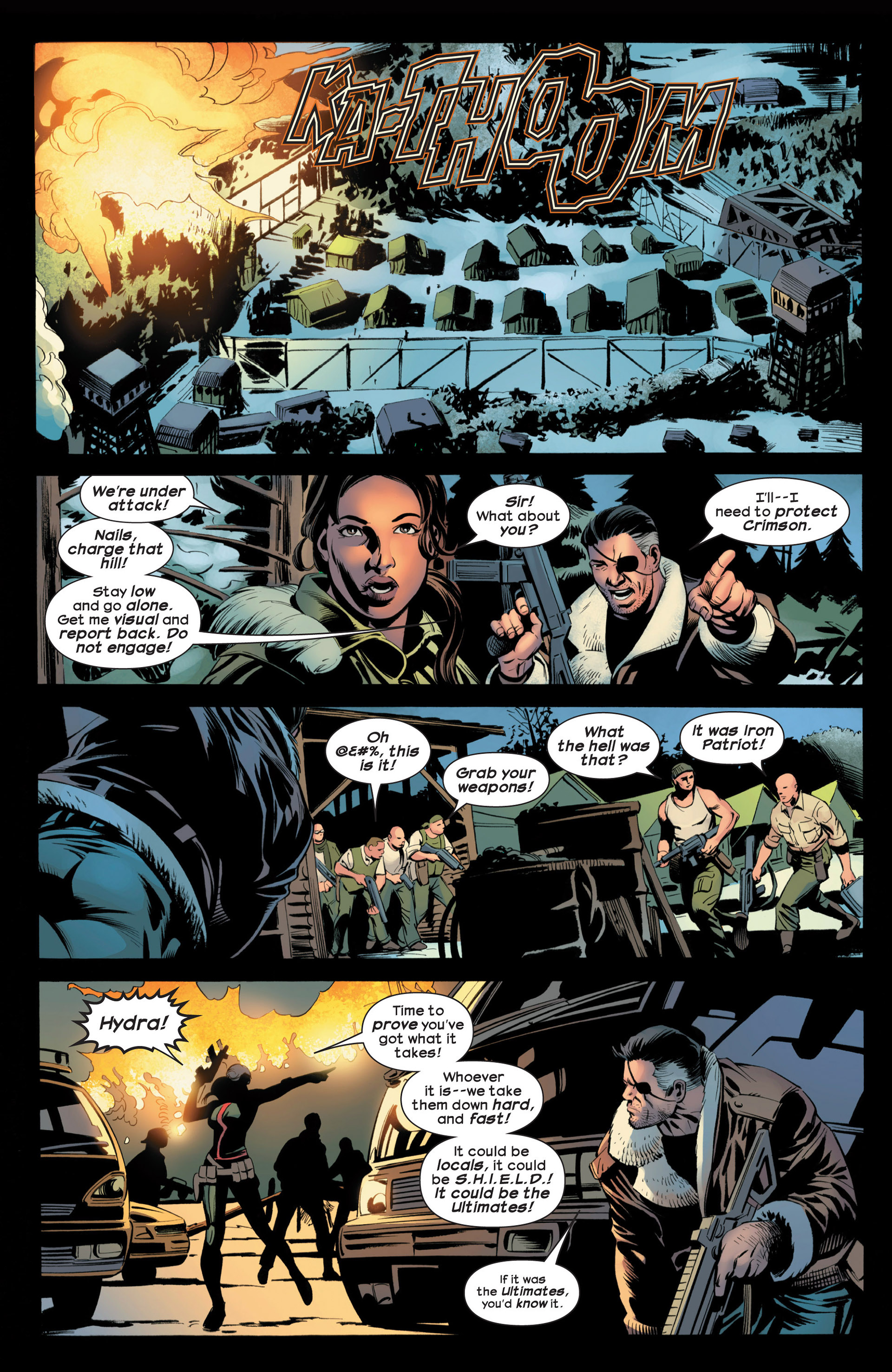 Read online Ultimate Comics Ultimates comic -  Issue #20 - 15