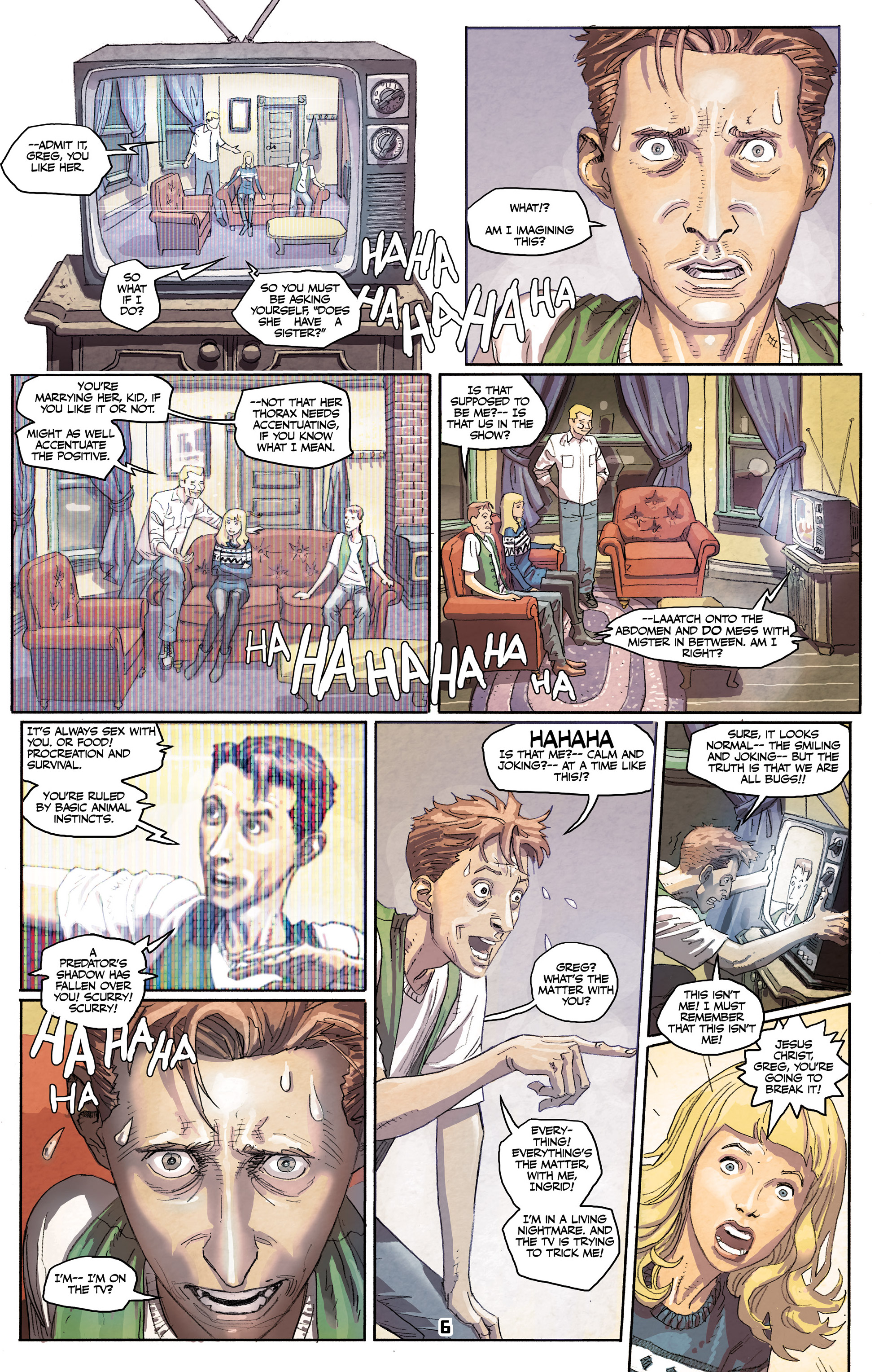 Read online Paklis comic -  Issue #1 - 8