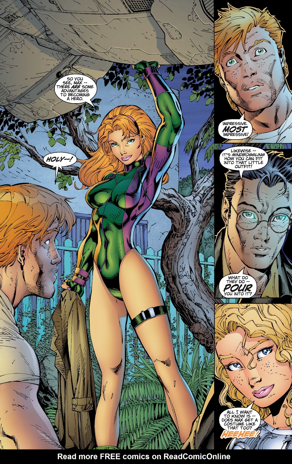 Read online Divine Right comic -  Issue # _TPB The Adventures of Max Faraday (Part 2) - 11