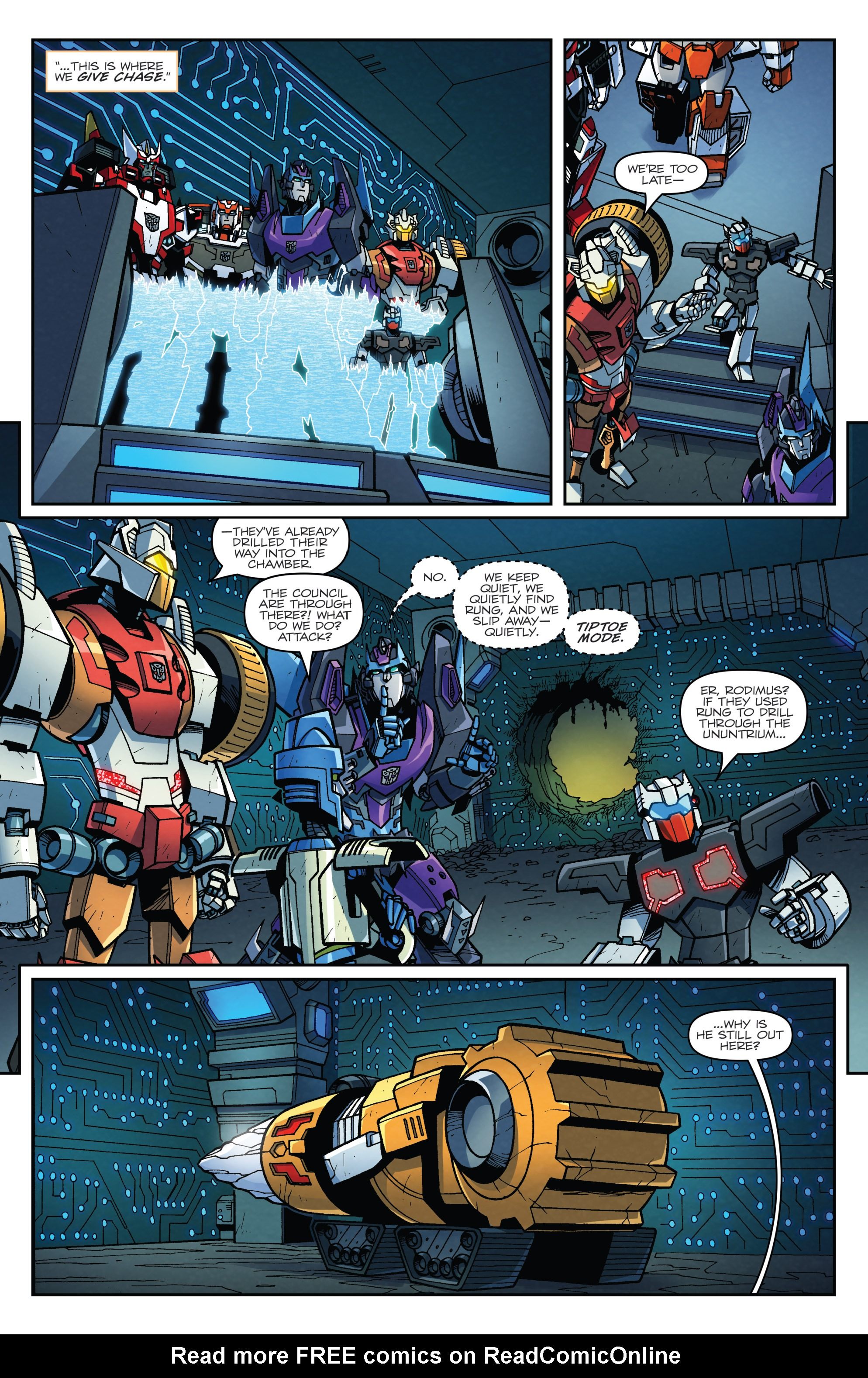 Read online Transformers: Lost Light comic -  Issue #4 - 16