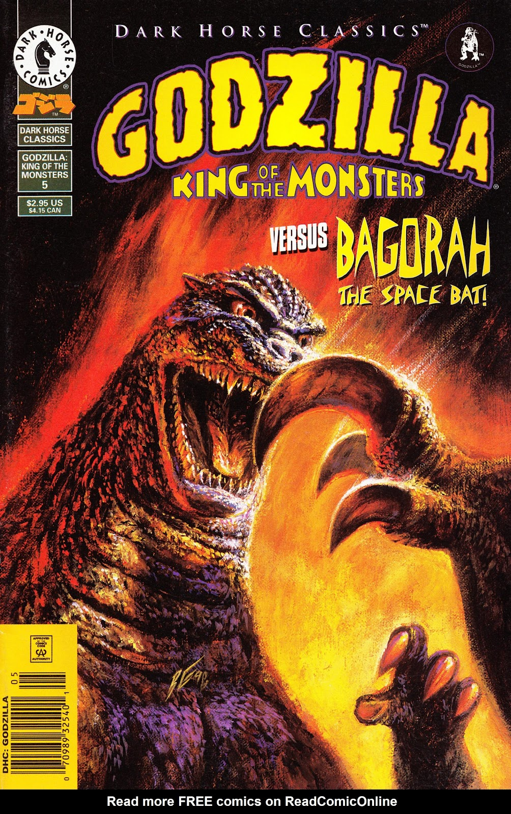 Dark Horse Classics: Godzilla - King of the Monsters issue 5 - Page 1