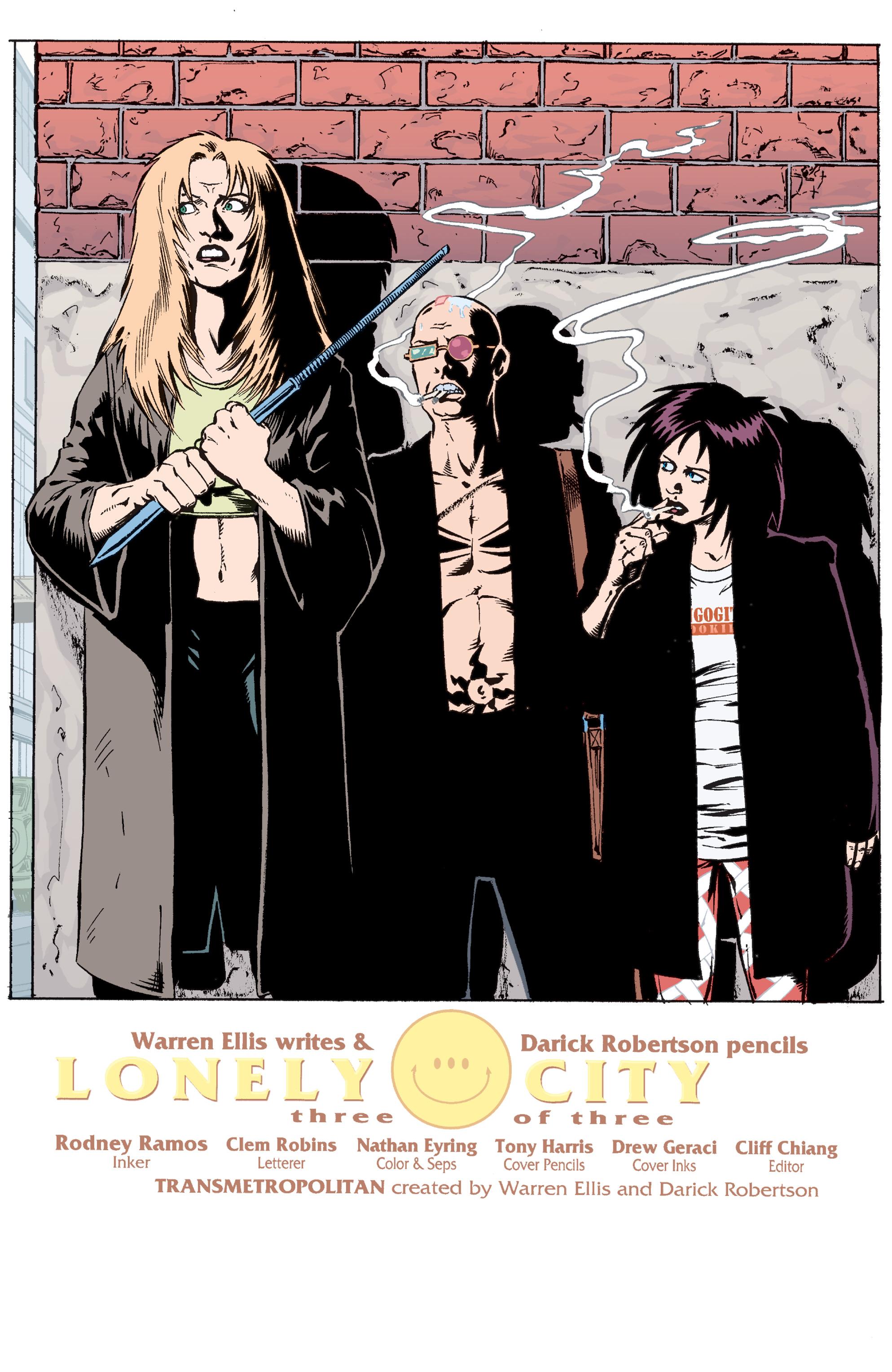 Read online Transmetropolitan comic -  Issue #30 - 2