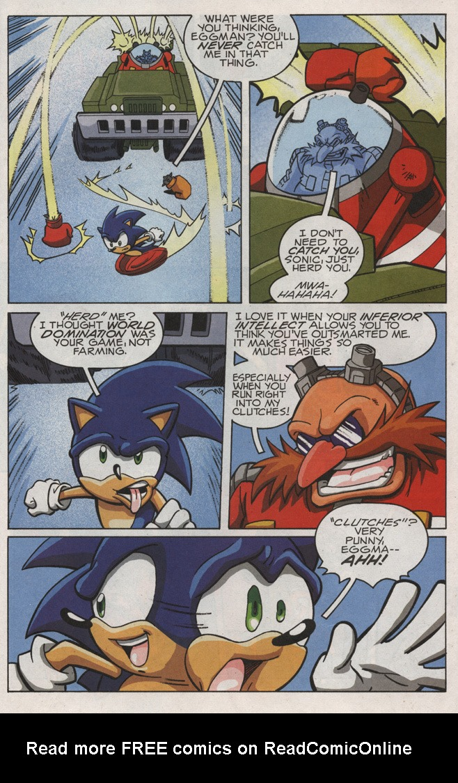 Read online Sonic X comic -  Issue #21 - 27