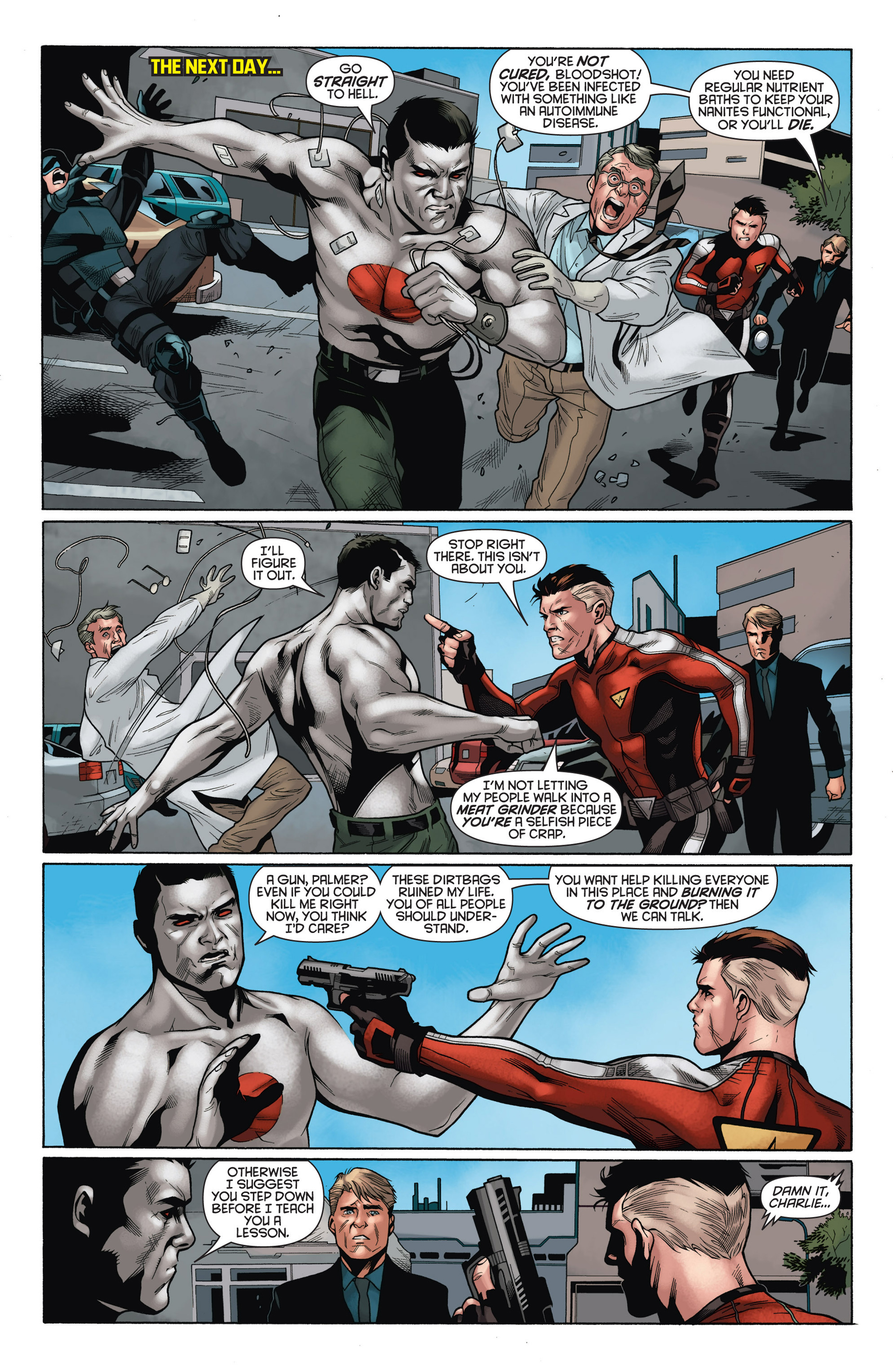 Read online Bloodshot and H.A.R.D.Corps comic -  Issue #15 - 17