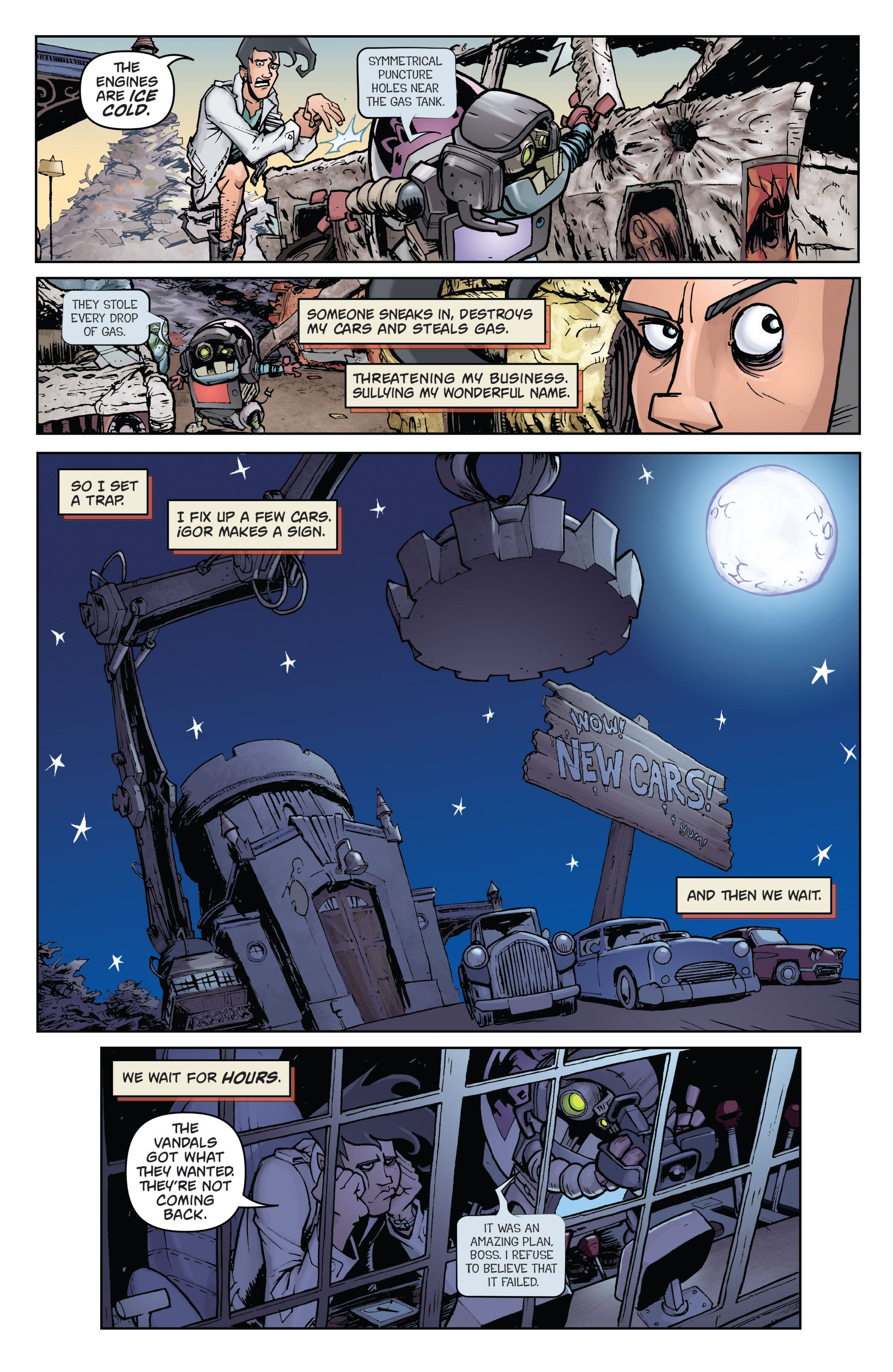 Read online Monster Motors comic -  Issue # Full - 11