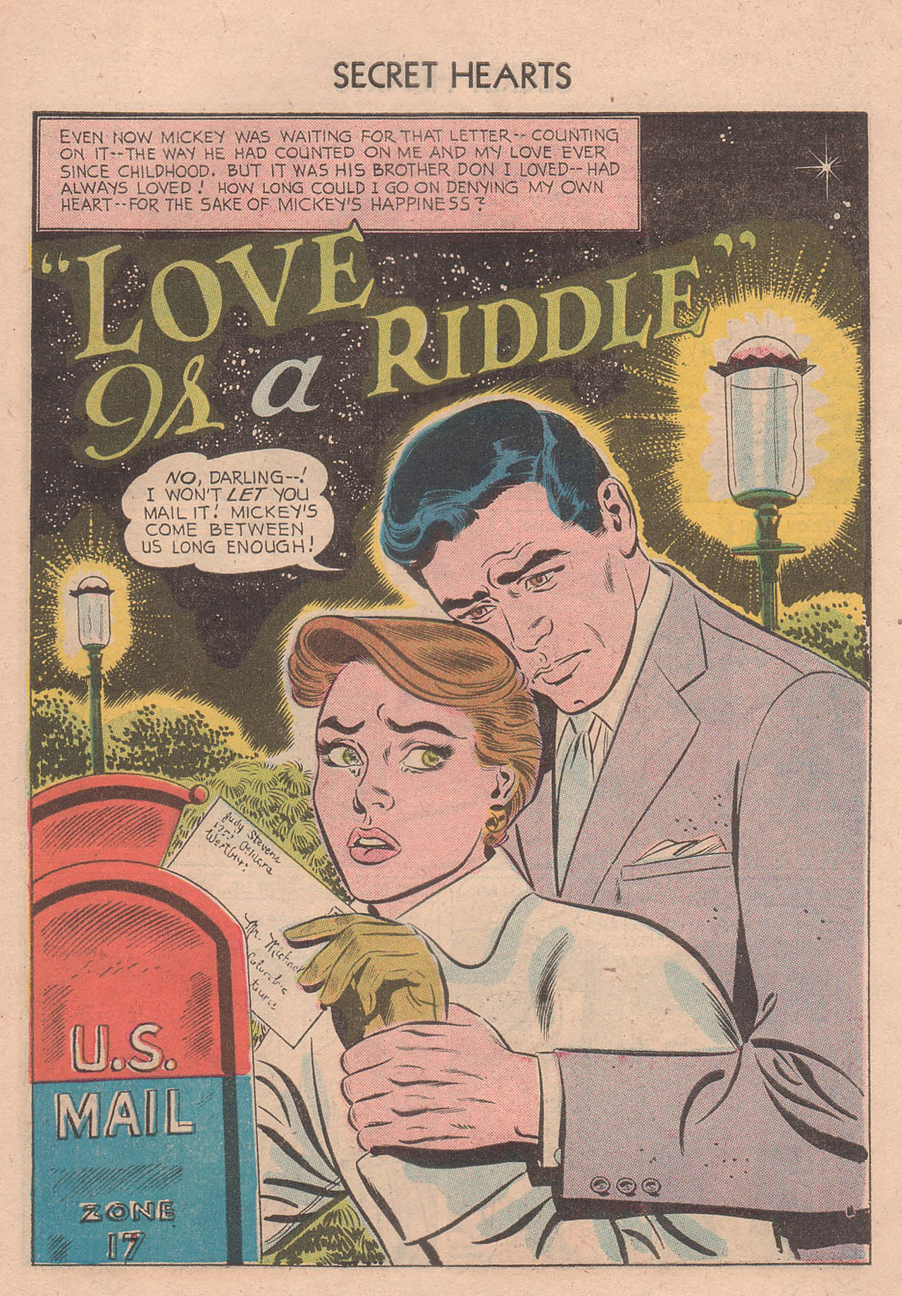 Read online Secret Hearts comic -  Issue #39 - 27