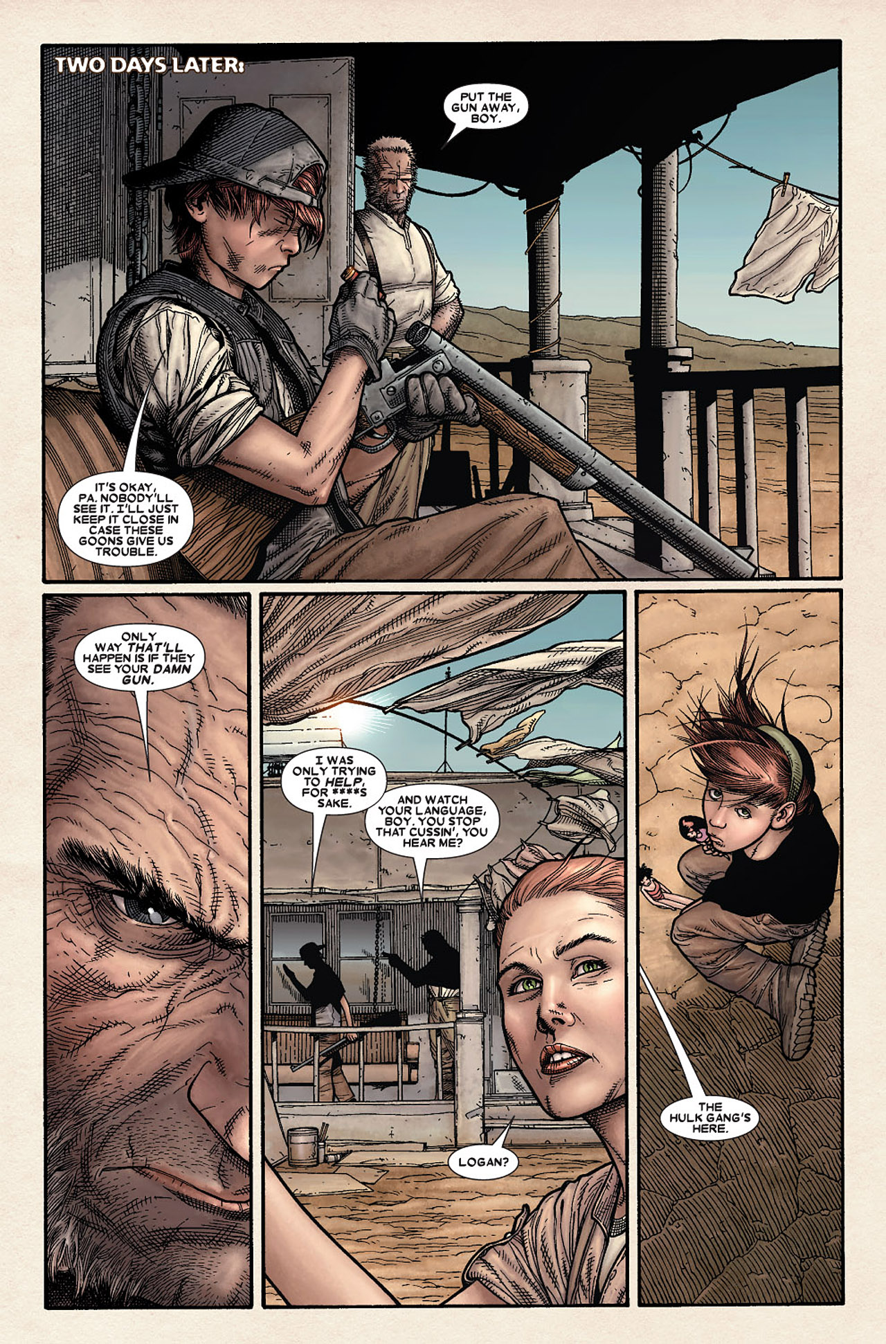 Read online Wolverine: Old Man Logan comic -  Issue # Full - 11