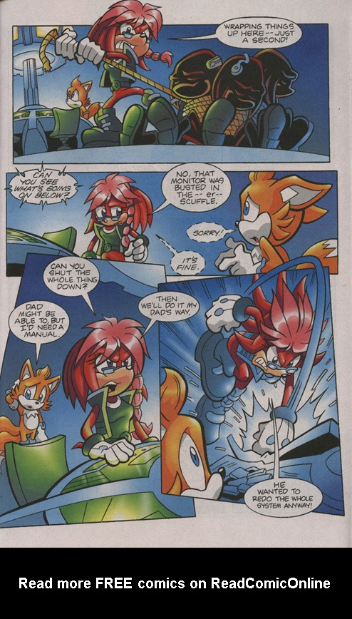 Read online Sonic Universe comic -  Issue #7 - 17