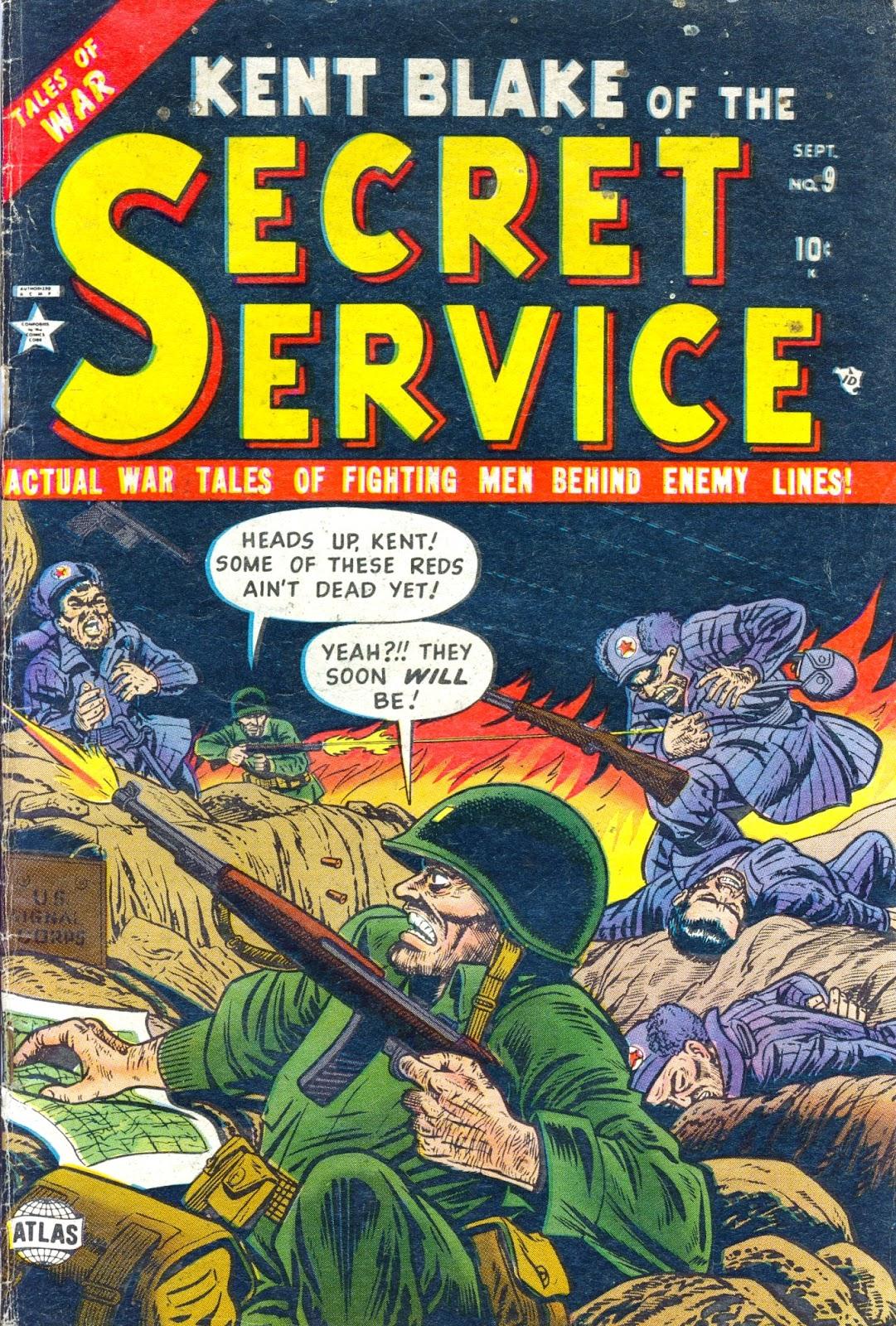 Kent Blake of the Secret Service 9 Page 1