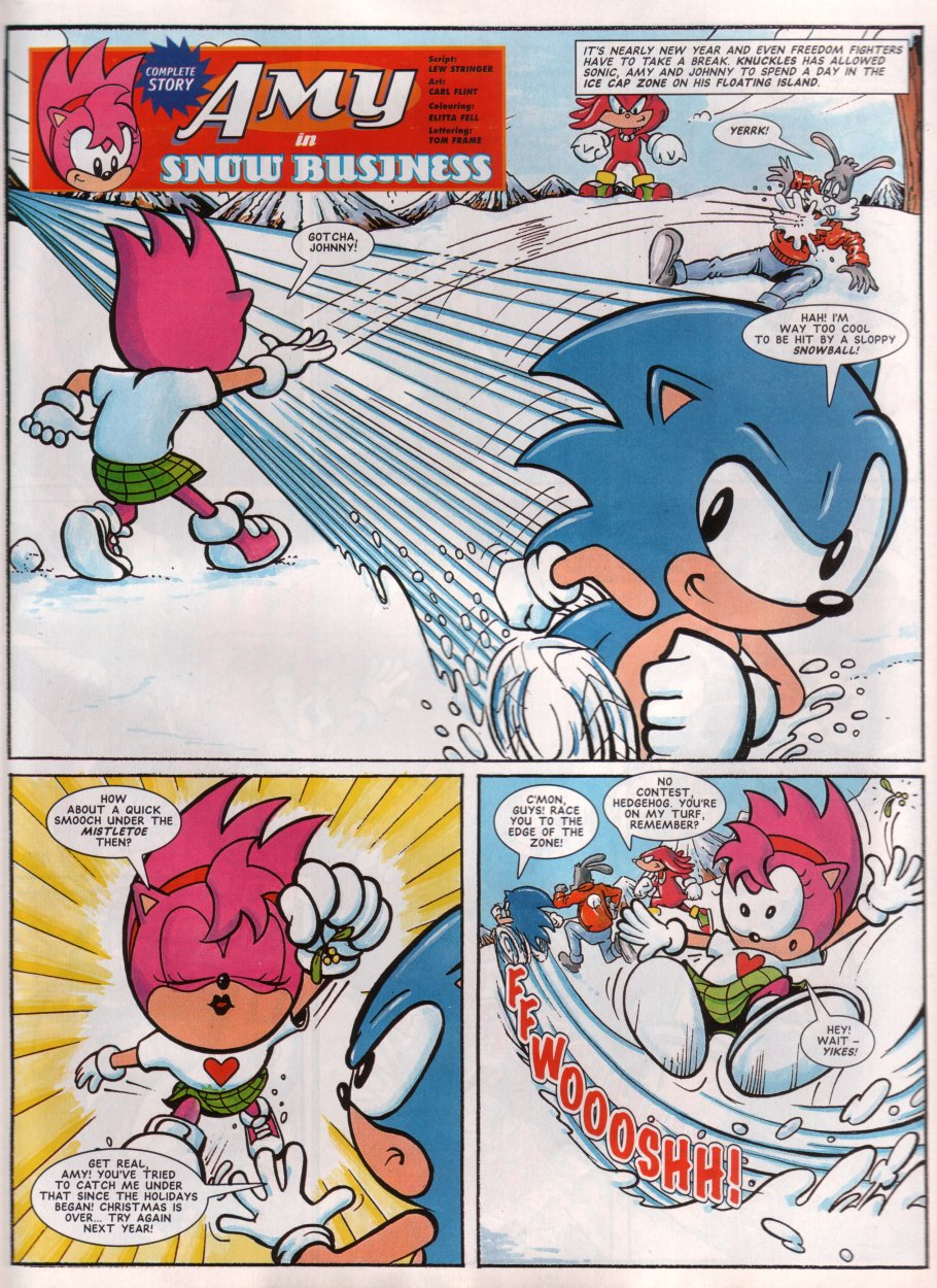 Read online Sonic the Comic comic -  Issue #68 - 25