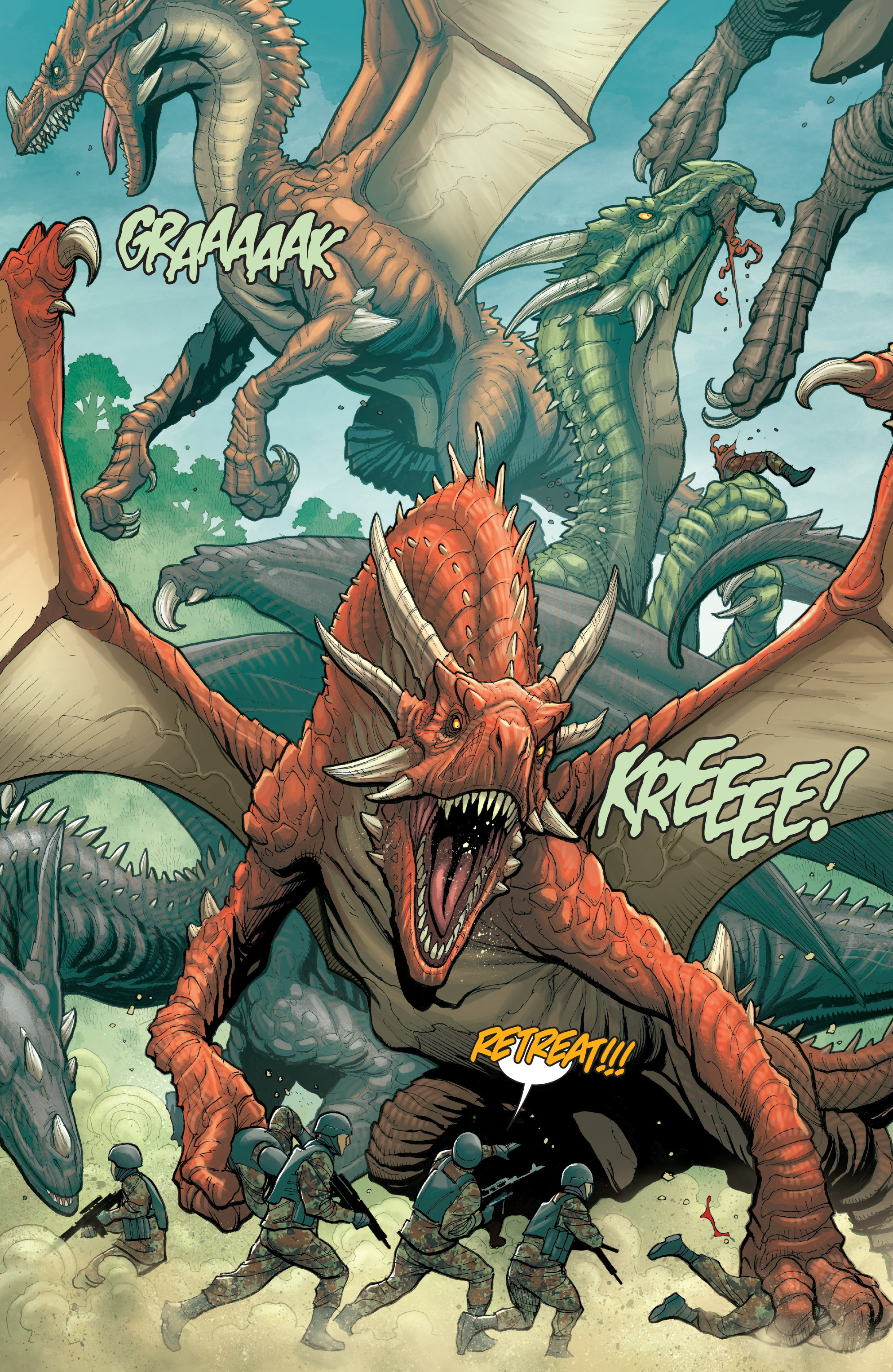 Read online Skybourne comic -  Issue #3 - 5
