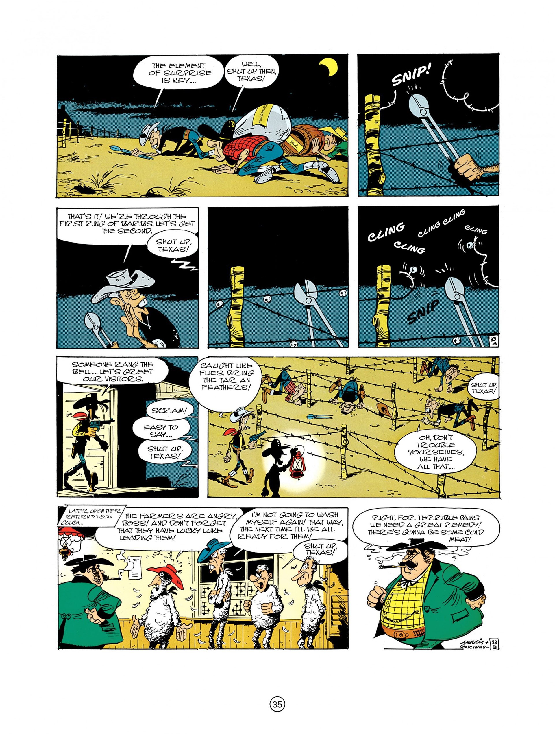 Read online A Lucky Luke Adventure comic -  Issue #7 - 35