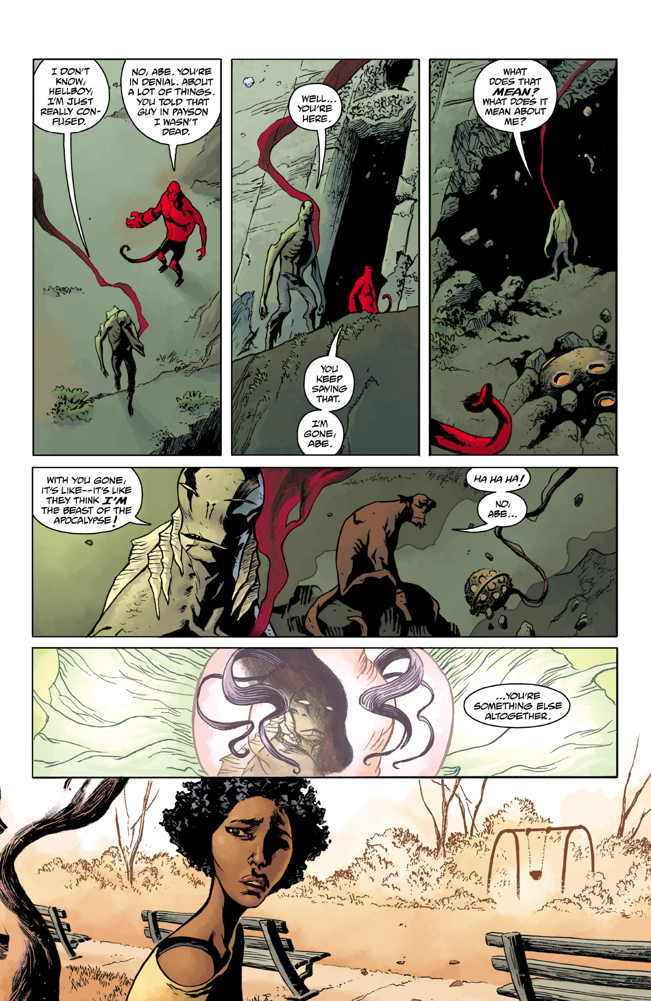 Read online Abe Sapien comic -  Issue #14 - 17