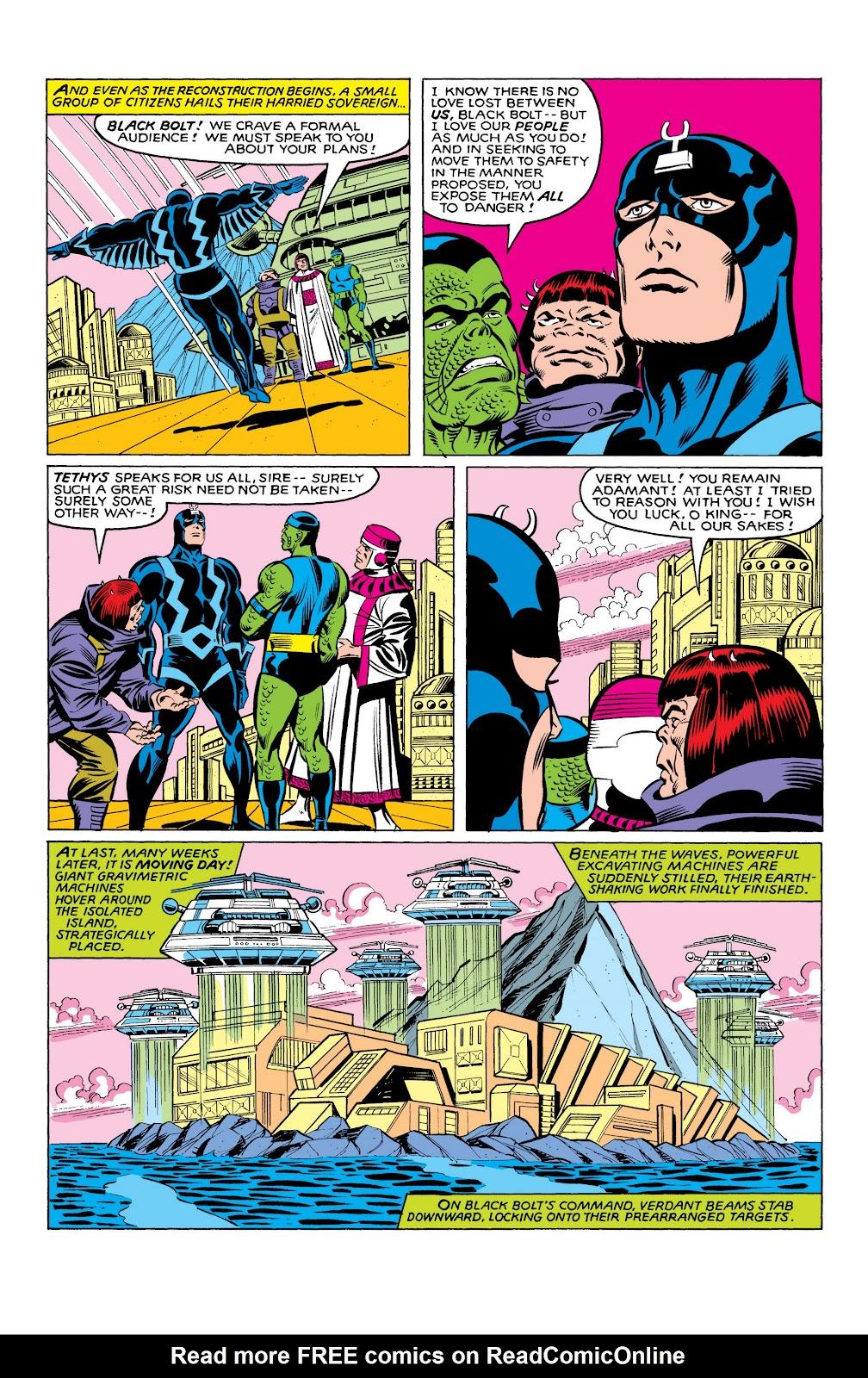 Read online Marvel Masterworks: The Inhumans comic -  Issue # TPB 2 (Part 3) - 93