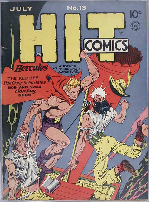 Read online Hit Comics comic -  Issue #13 - 1
