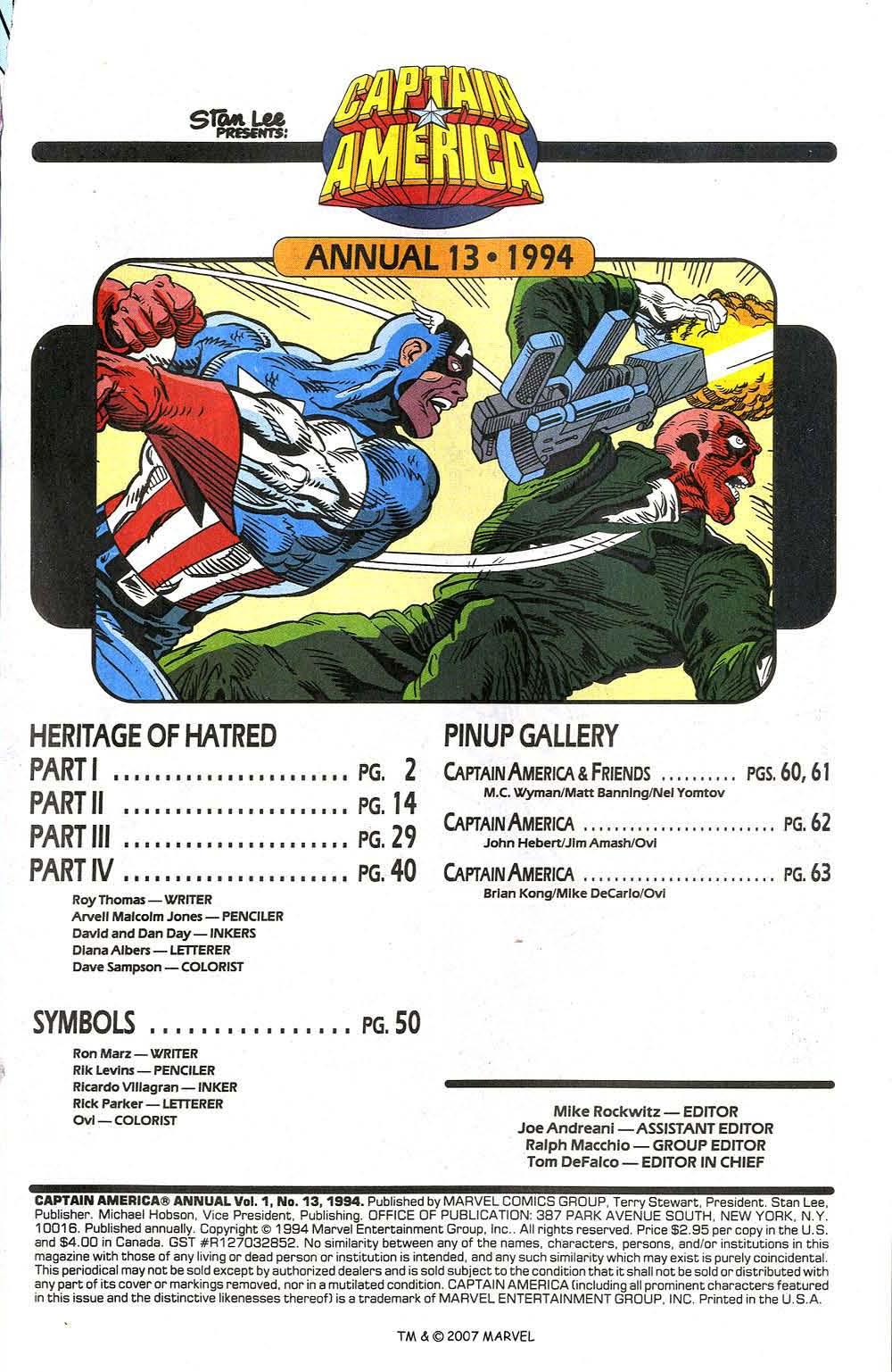 Read online Captain America (1968) comic -  Issue # _Annual 13 - 3