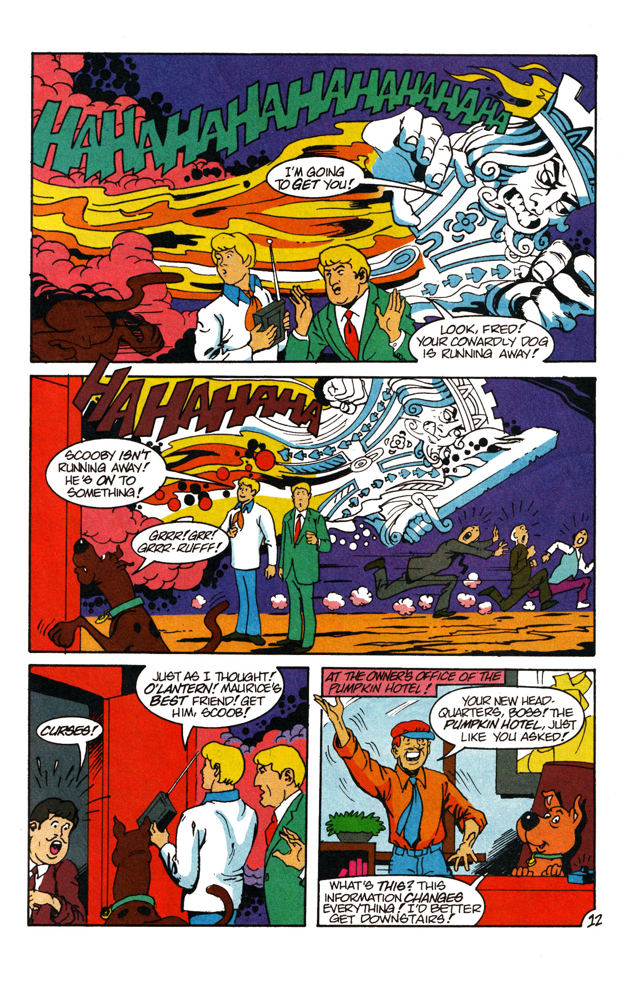 Read online Scooby-Doo (1995) comic -  Issue #13 - 18