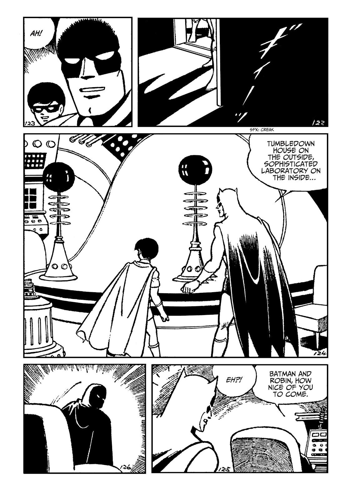 Read online Batman - The Jiro Kuwata Batmanga comic -  Issue #51 - 21