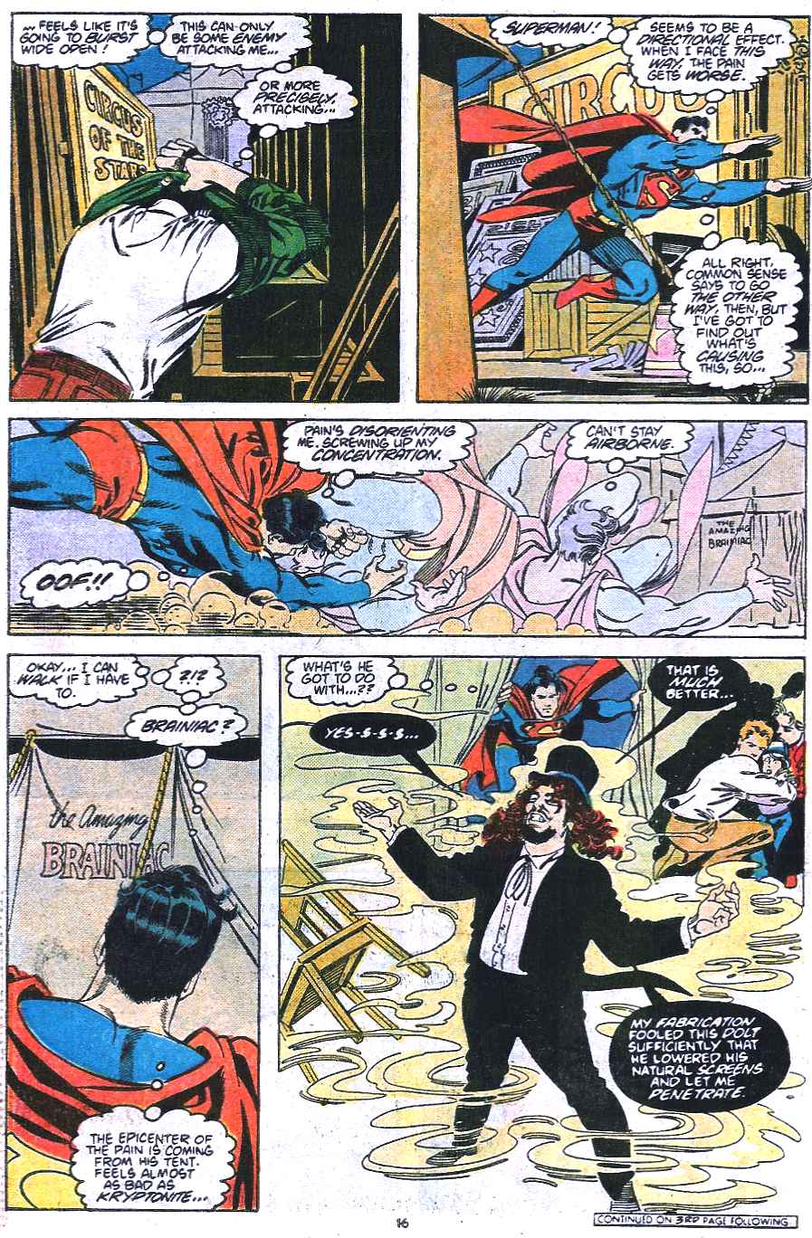 Read online Adventures of Superman (1987) comic -  Issue #438 - 17