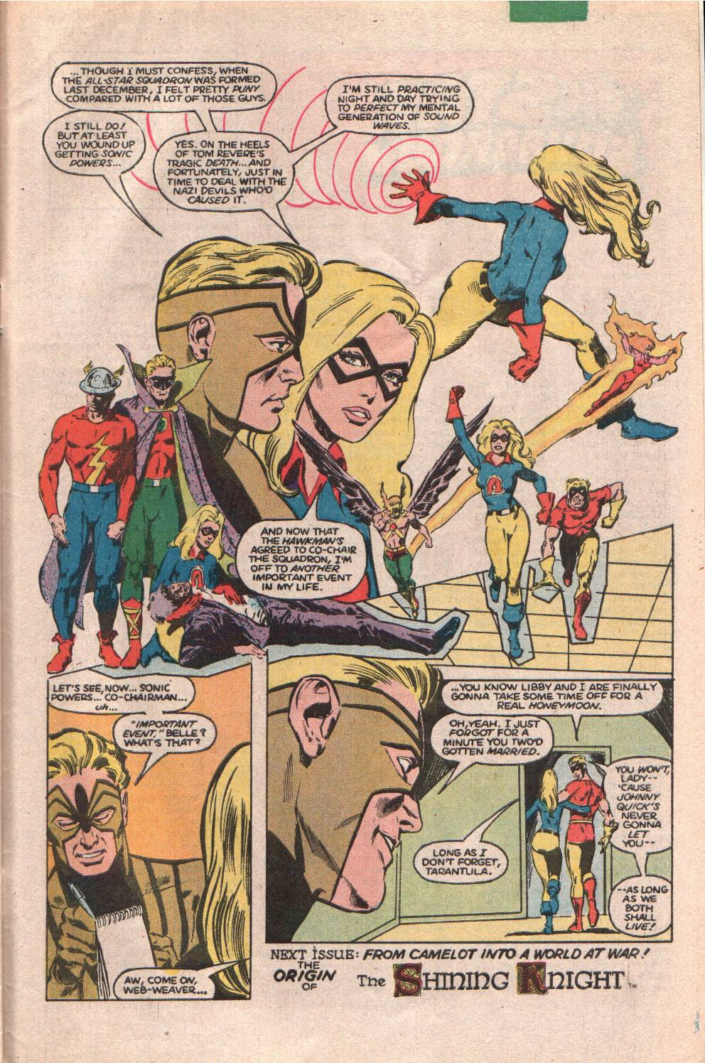 Read online All-Star Squadron comic -  Issue #61 - 31