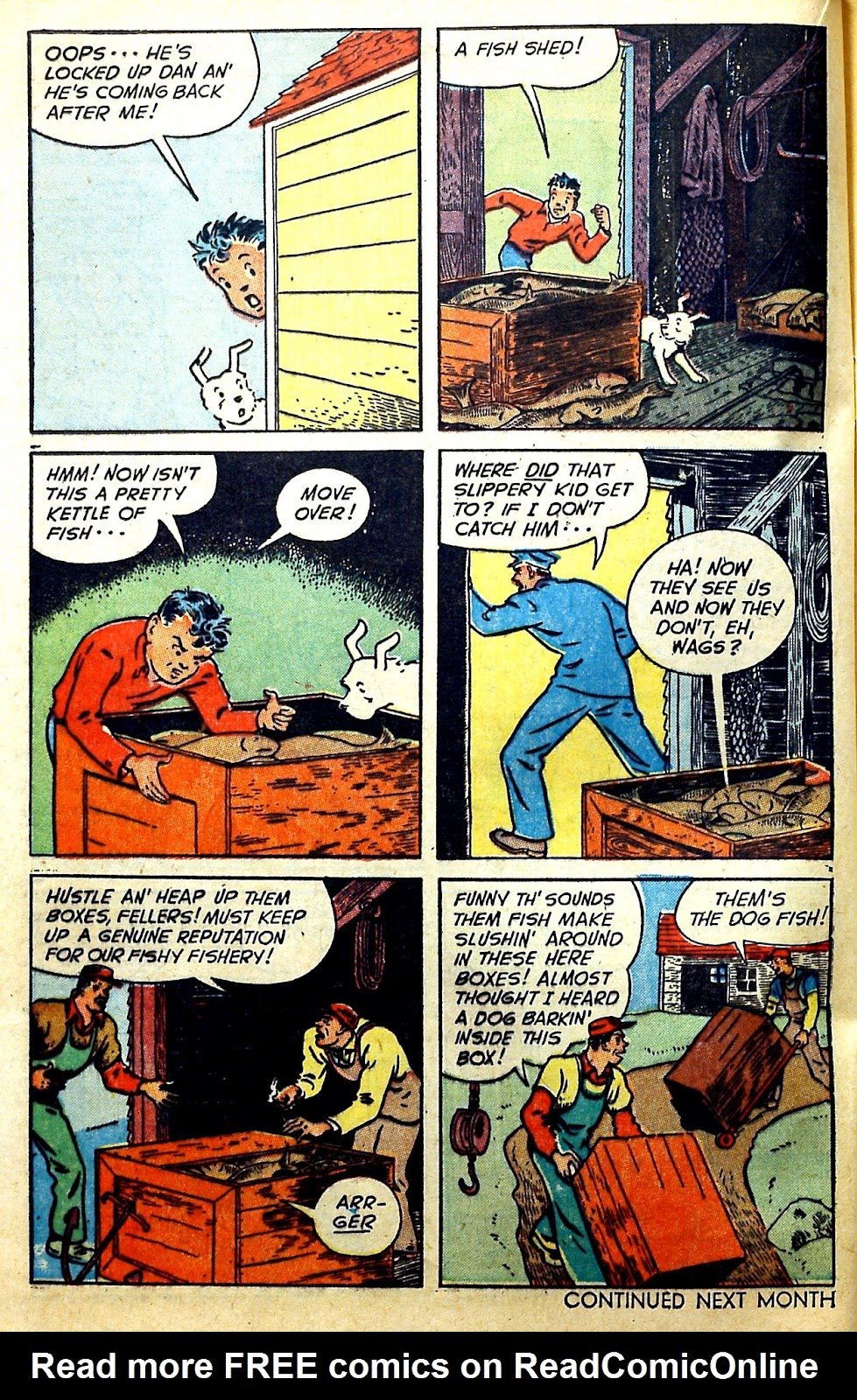 Read online Famous Funnies comic -  Issue #166 - 32