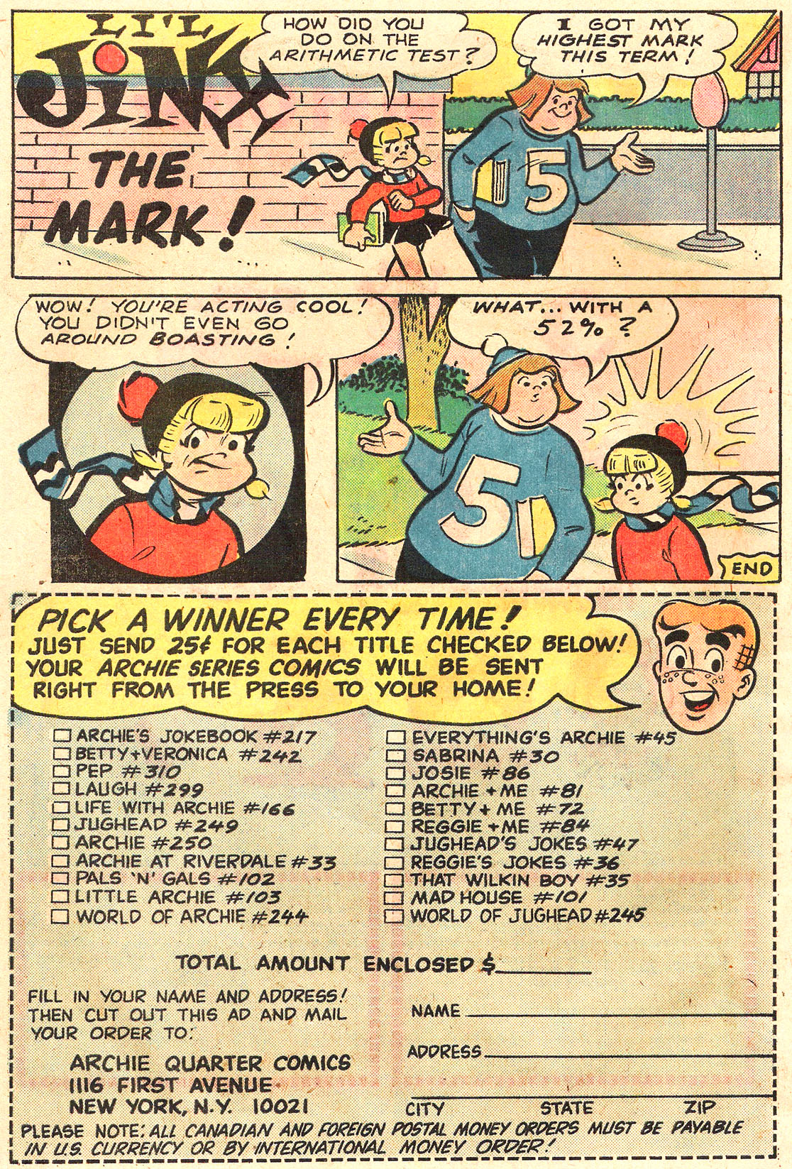 Read online Archie (1960) comic -  Issue #250 - 10