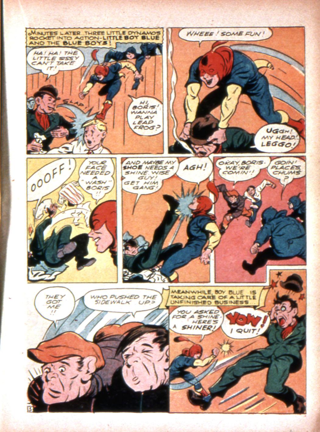 Read online Sensation (Mystery) Comics comic -  Issue #20 - 27