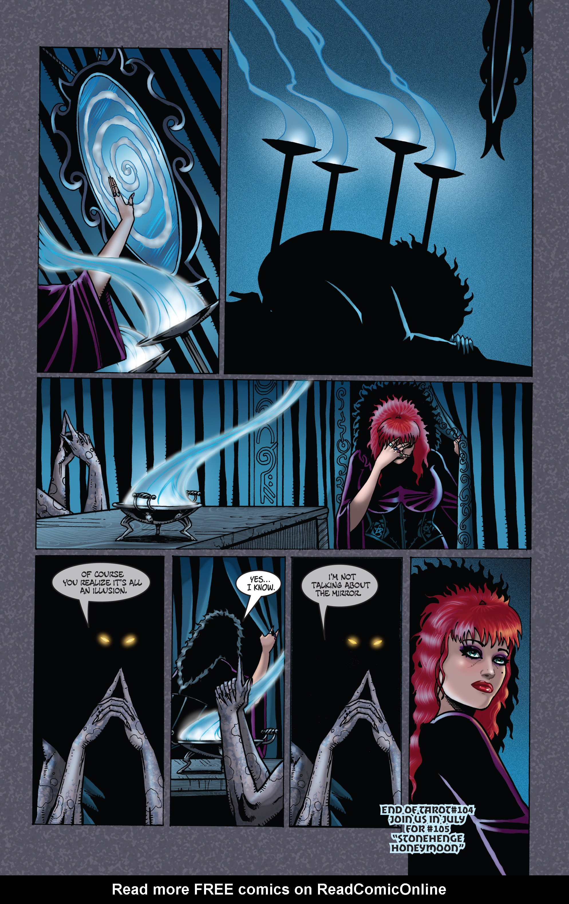 Read online Tarot: Witch of the Black Rose comic -  Issue #104 - 26