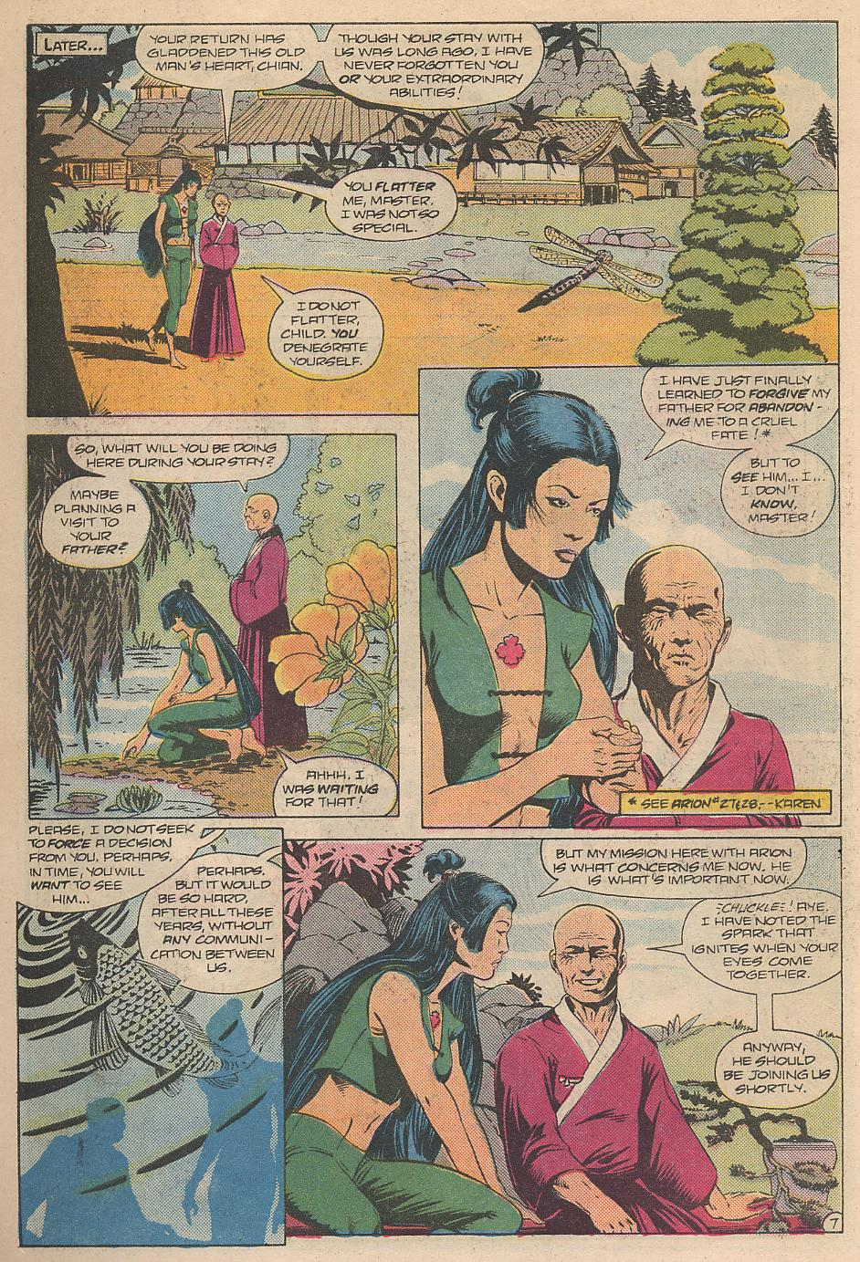 Read online Arion, Lord of Atlantis comic -  Issue #31 - 8