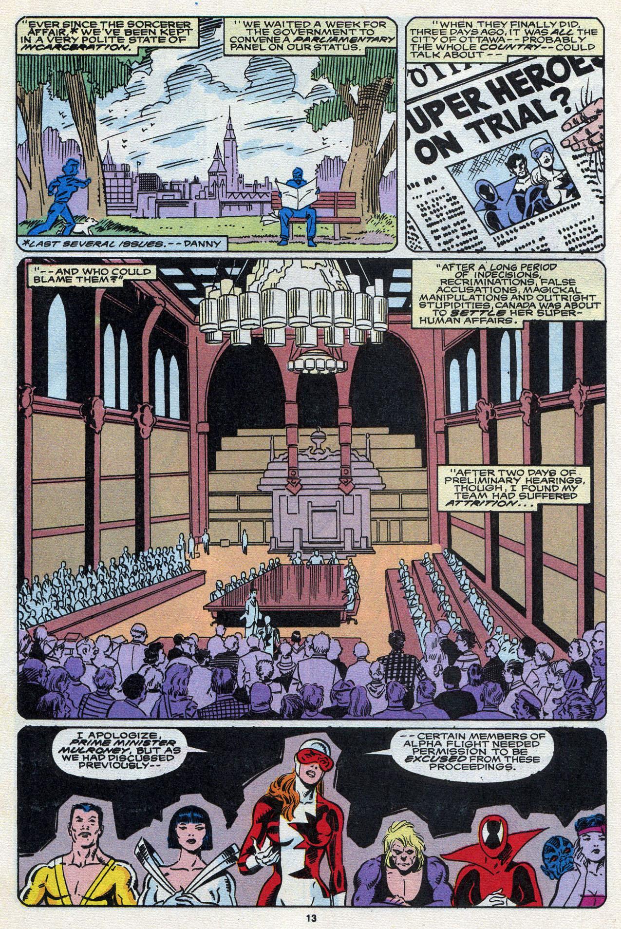 Read online Alpha Flight (1983) comic -  Issue #87 - 15