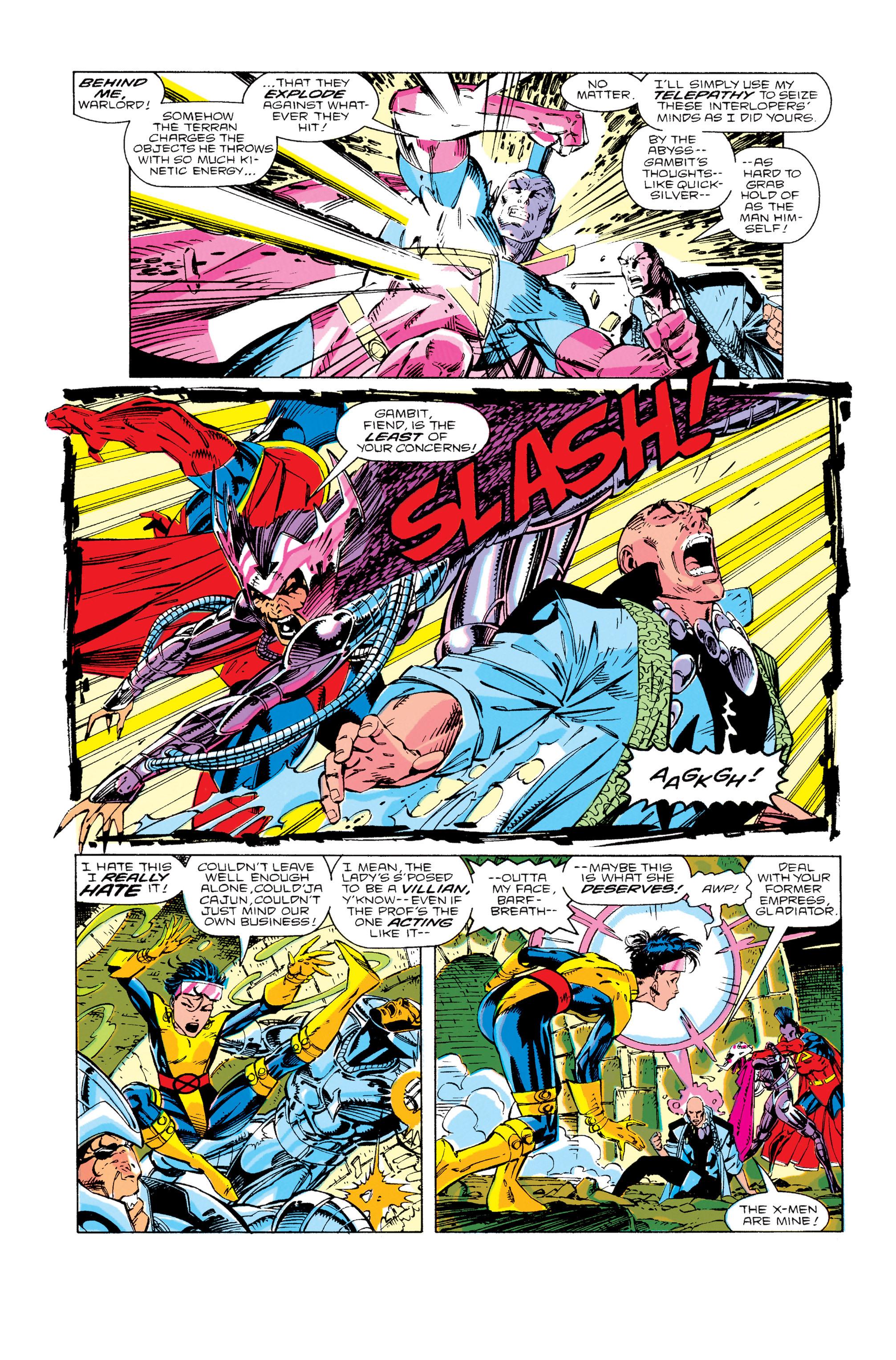Read online Uncanny X-Men (1963) comic -  Issue #276 - 5