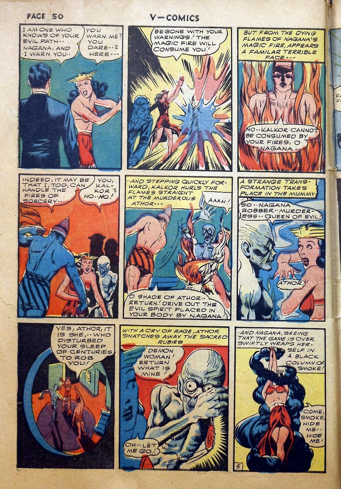 Read online V...- Comics comic -  Issue #2 - 51
