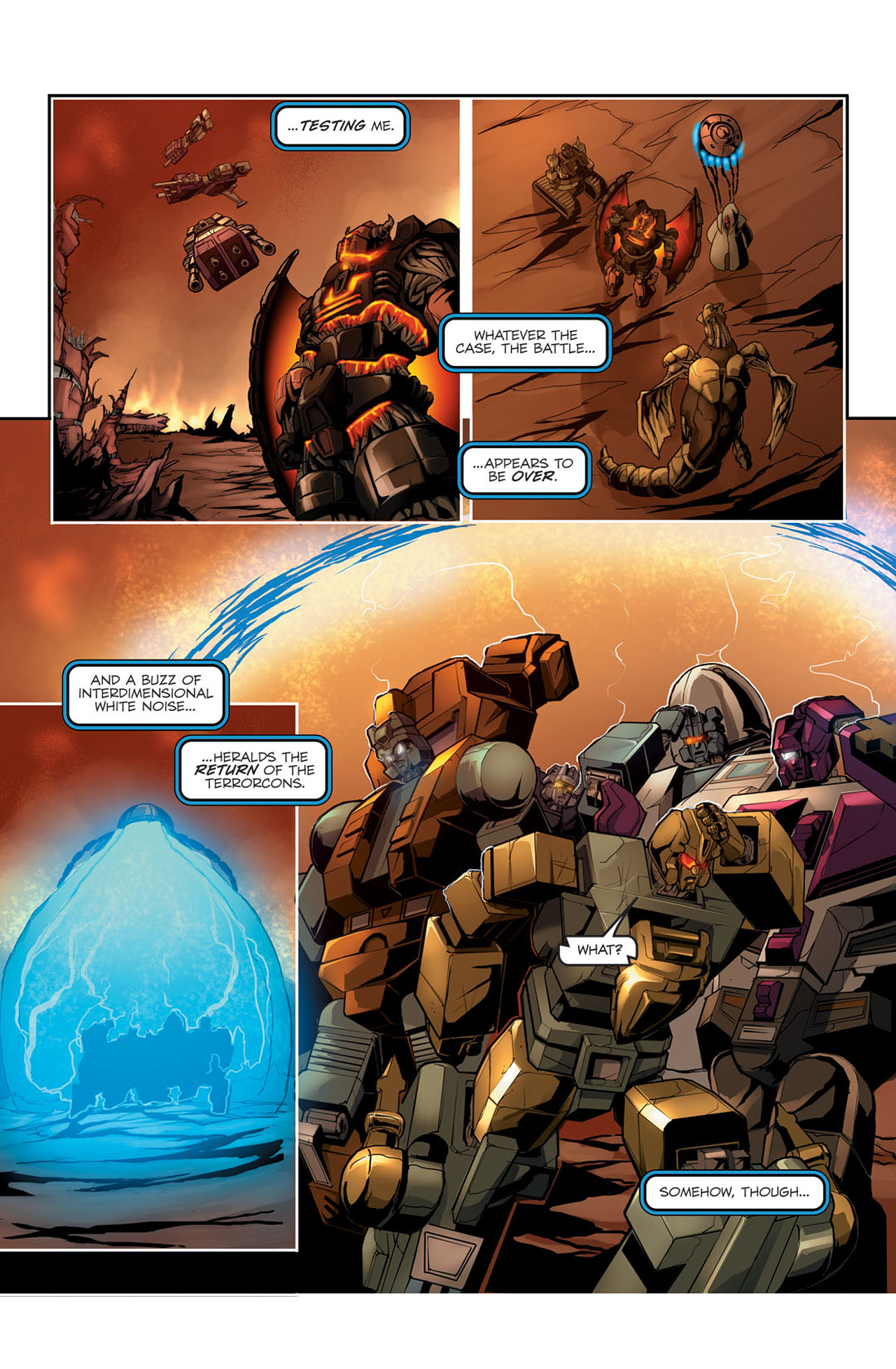 Read online Transformers Spotlight: Sixshot comic -  Issue # Full - 19