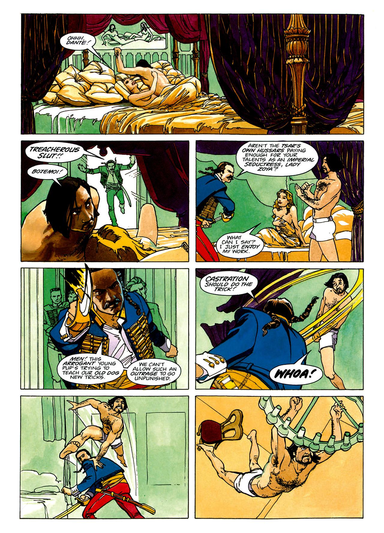 Read online Nikolai Dante comic -  Issue # TPB 1 - 7