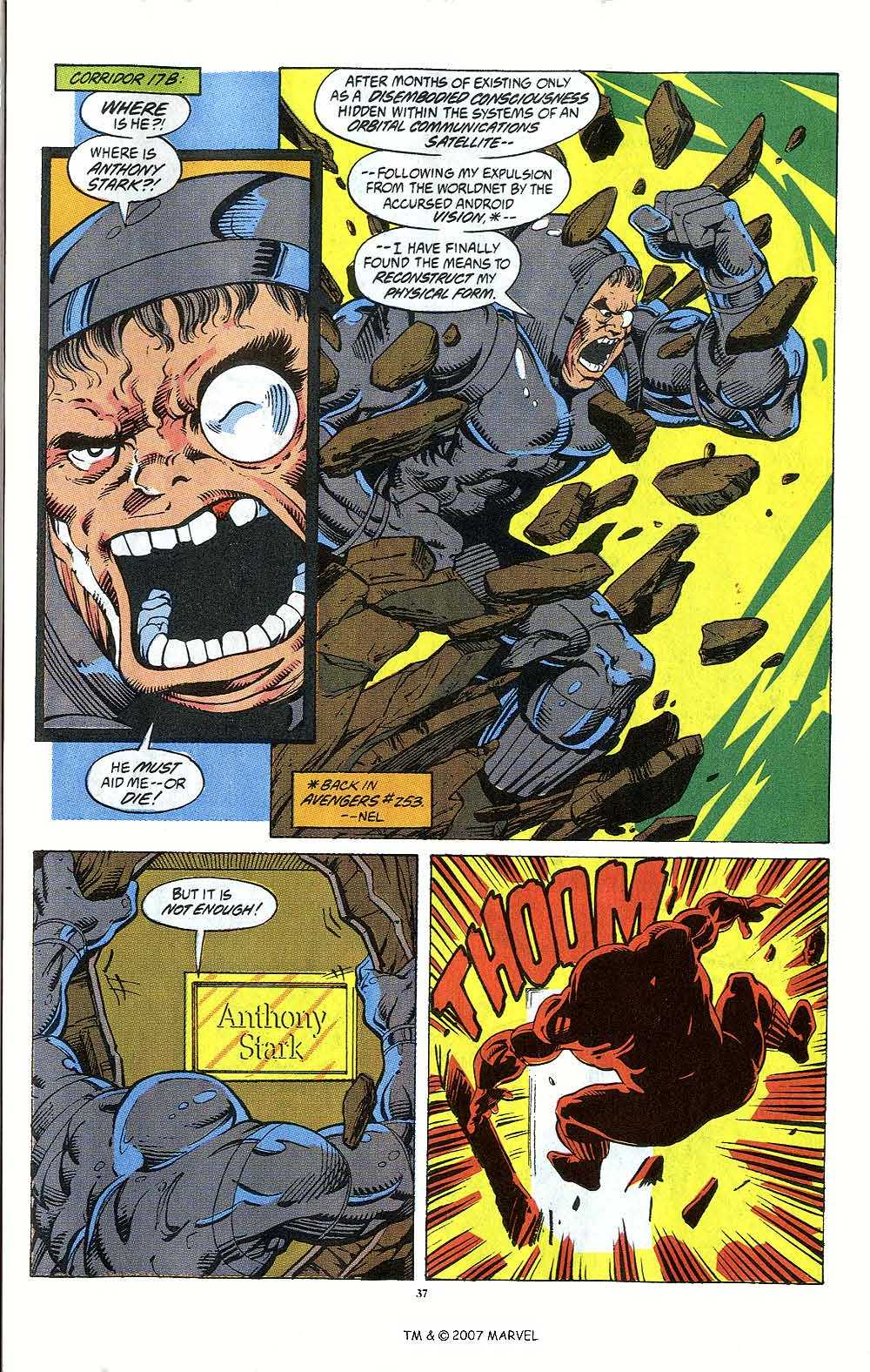 Iron Man Annual issue 12 - Page 39