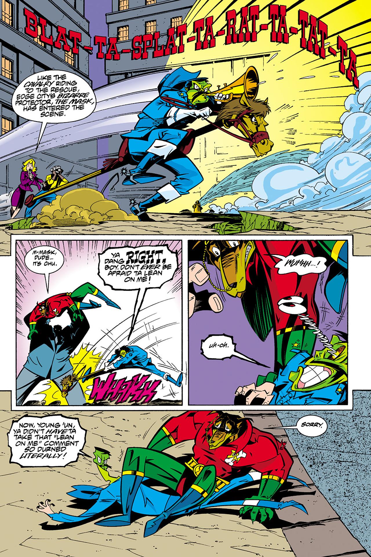 Read online Adventures Of The Mask Omnibus comic -  Issue #Adventures Of The Mask Omnibus Full - 295