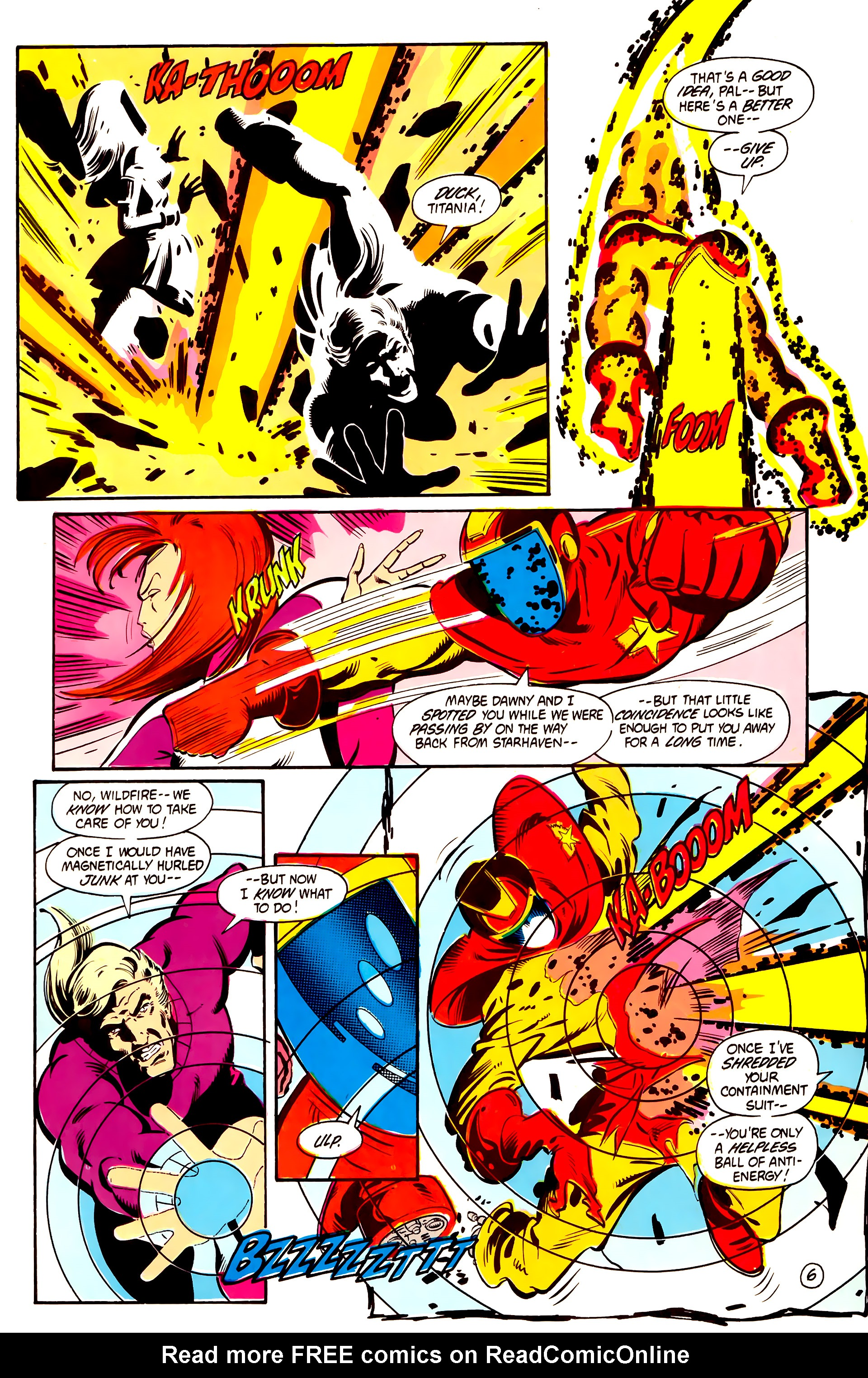 Legion of Super-Heroes (1984) 2 Page 7