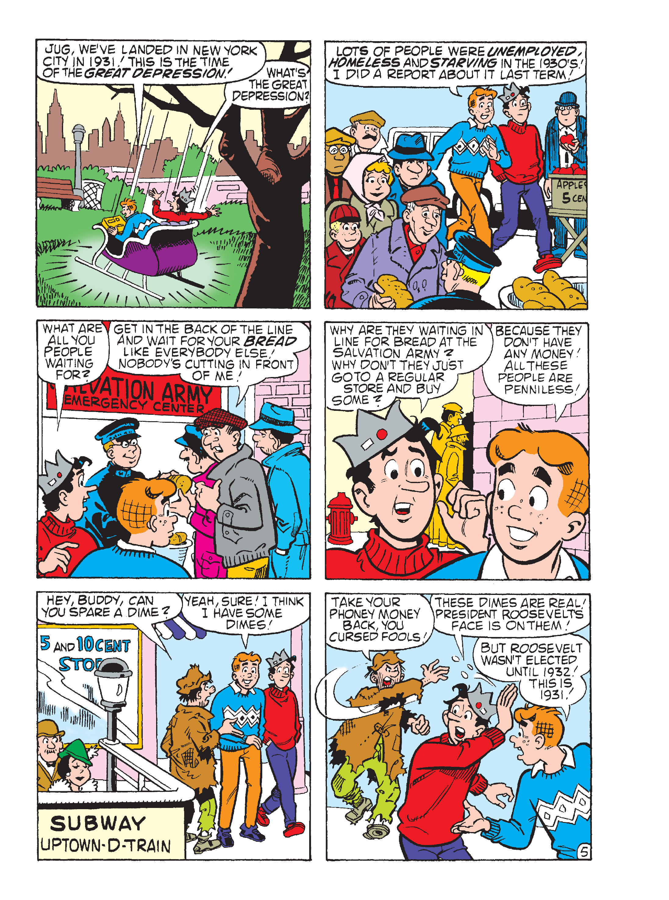 Read online World of Archie Double Digest comic -  Issue #55 - 242
