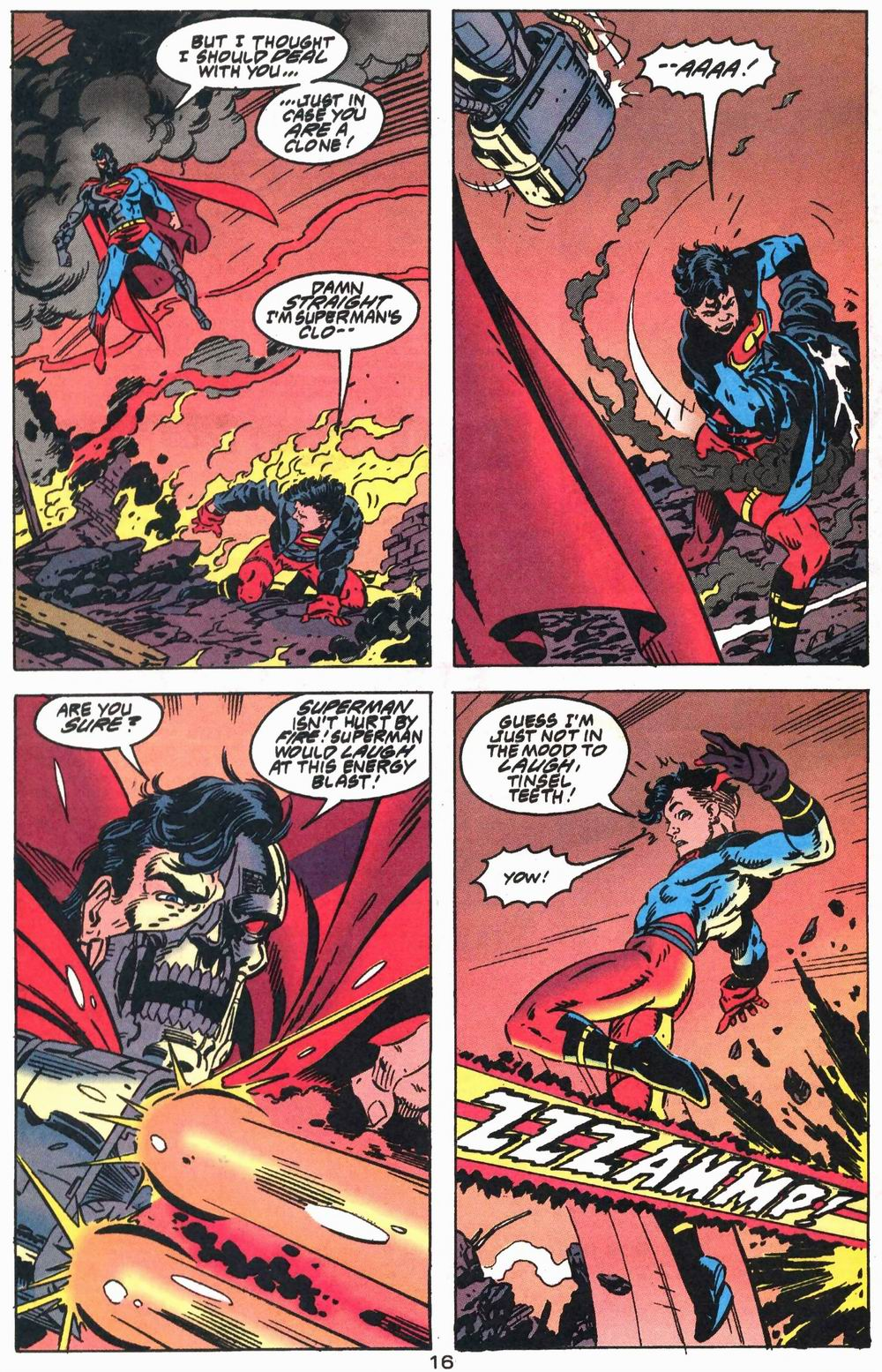 Read online Adventures of Superman (1987) comic -  Issue #503 - 17