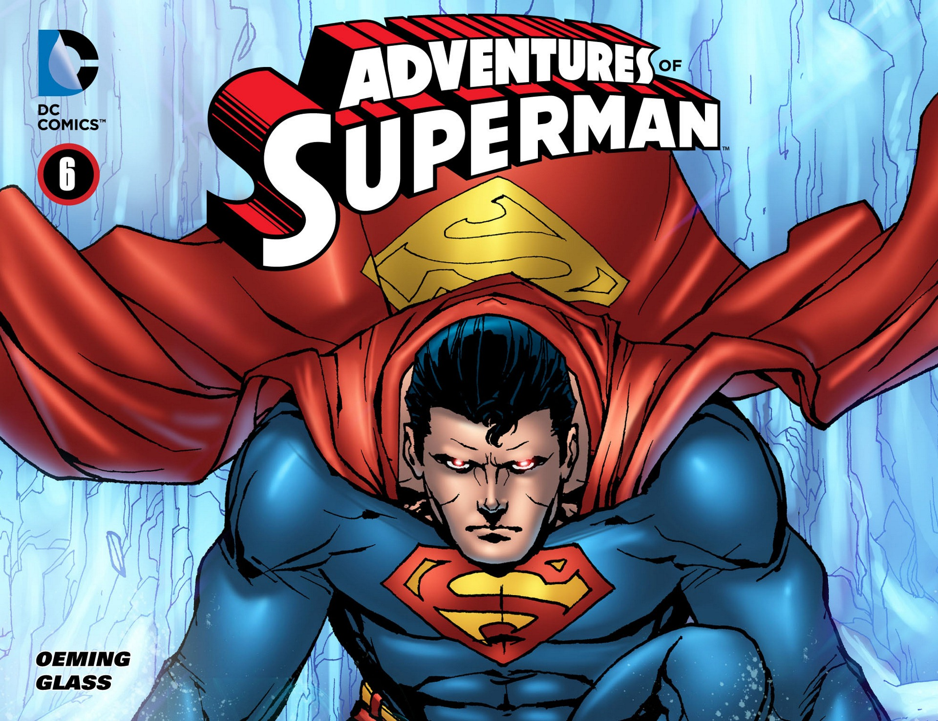 Read online Adventures of Superman [I] comic -  Issue #6 - 1