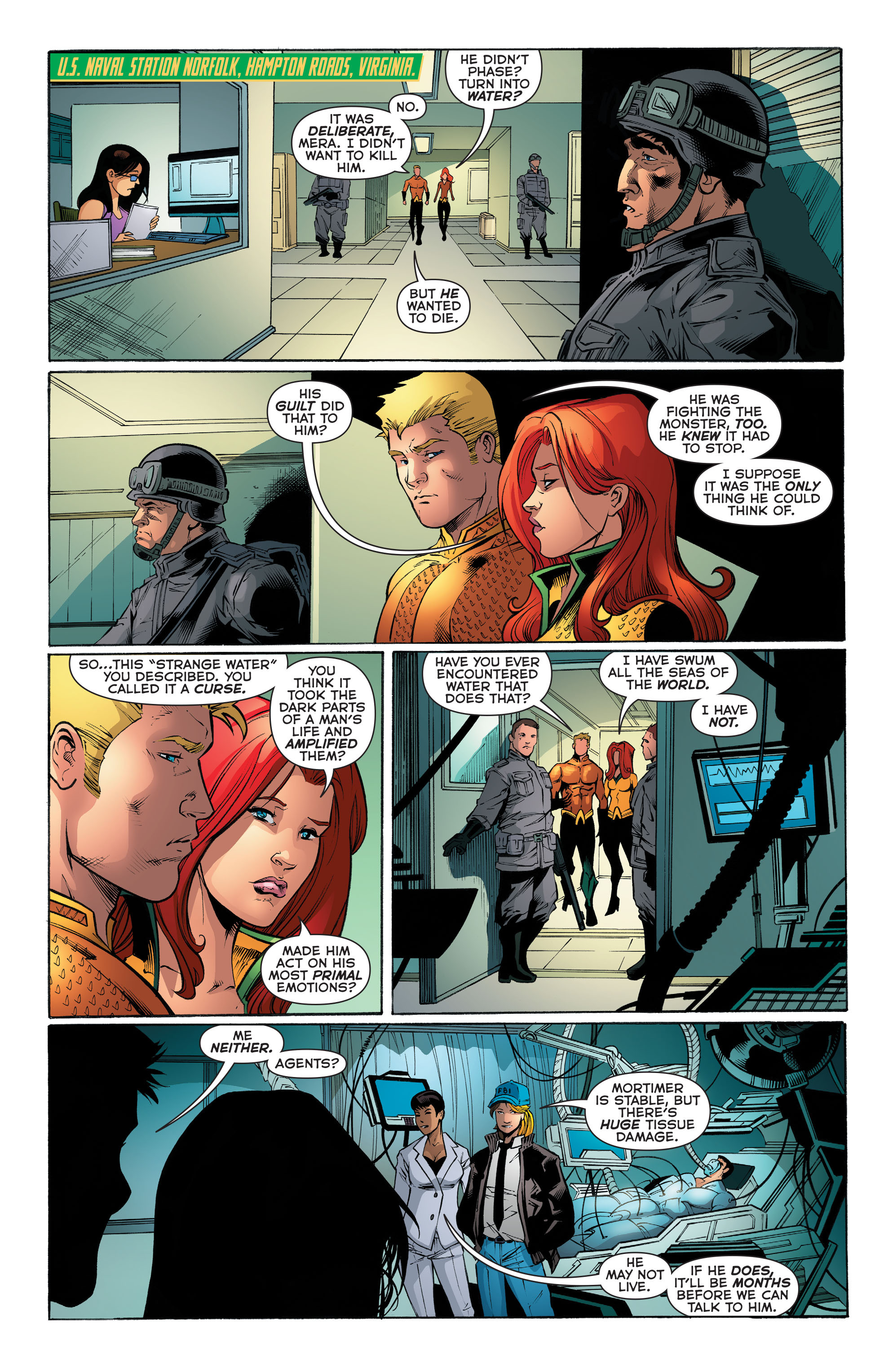 Read online Aquaman (2011) comic -  Issue #52 - 21