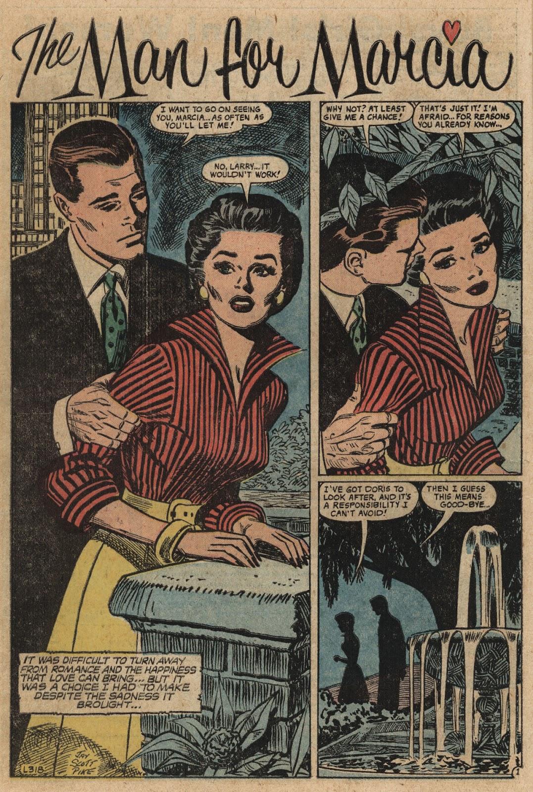 Love Romances (1949) issue 66 - Page 10