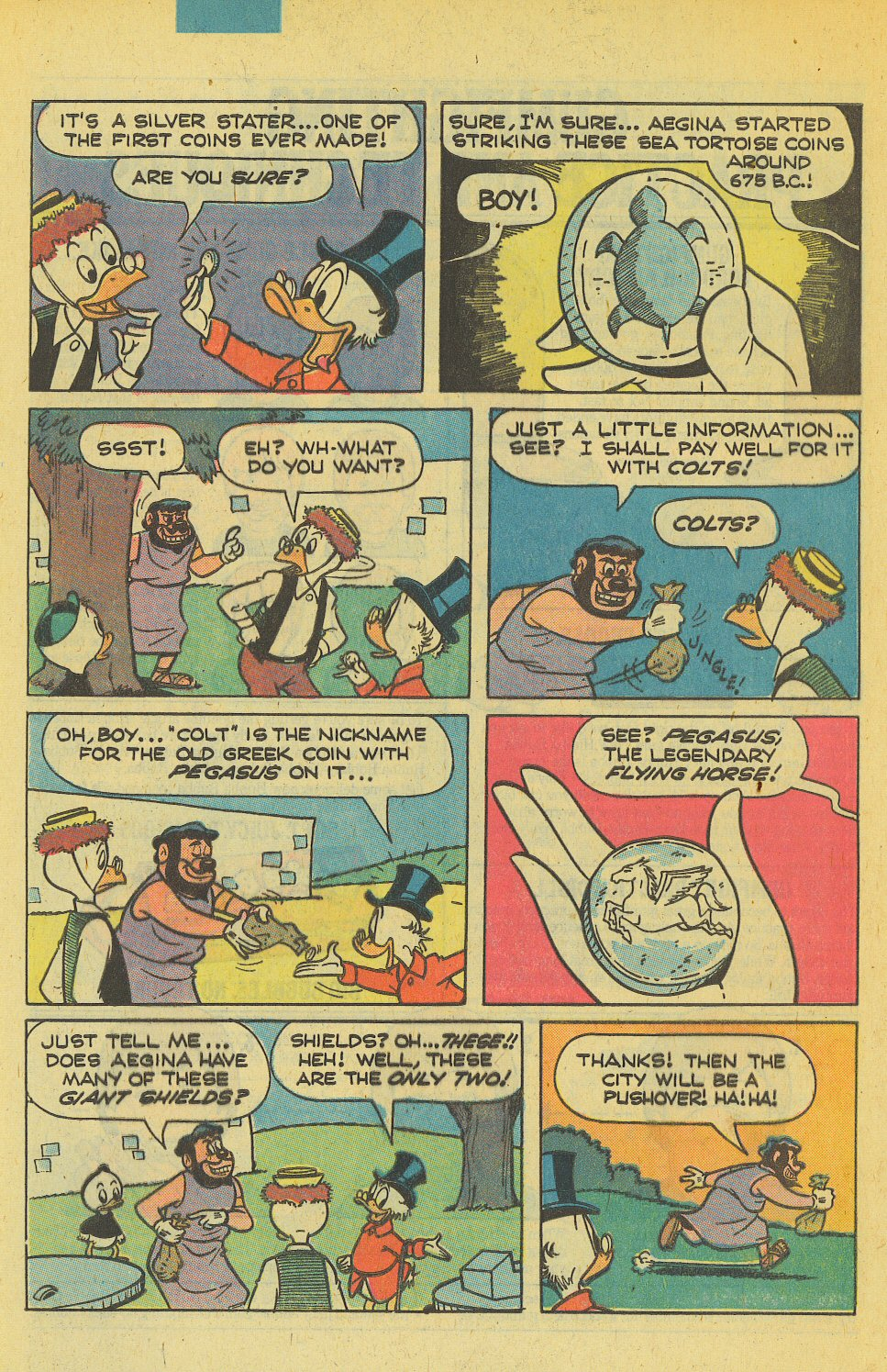 Read online Uncle Scrooge (1953) comic -  Issue #169 - 8