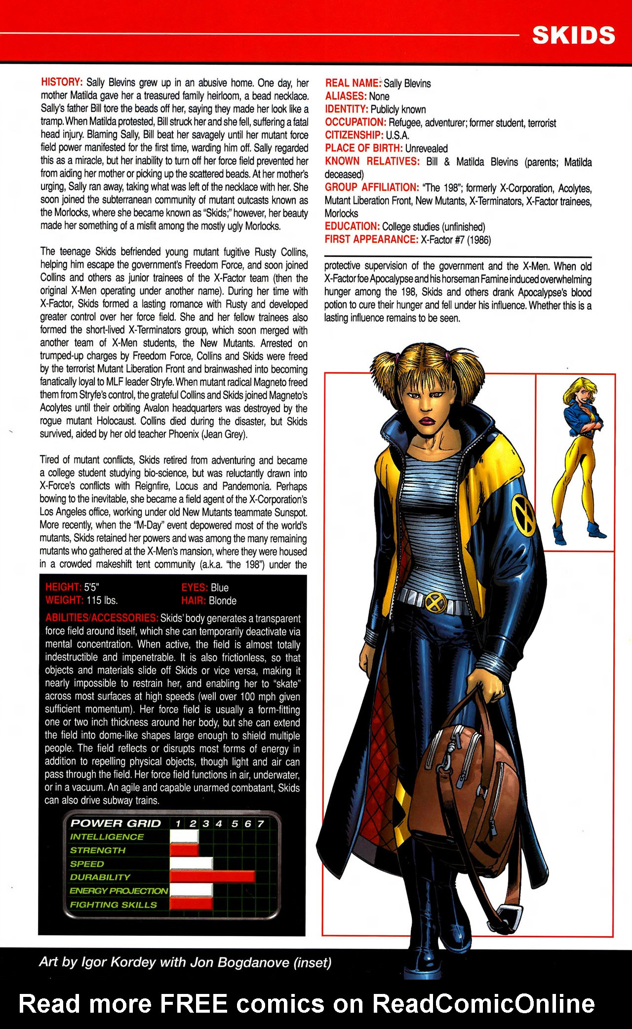 Read online All-New Official Handbook of the Marvel Universe A to Z comic -  Issue #10 - 23