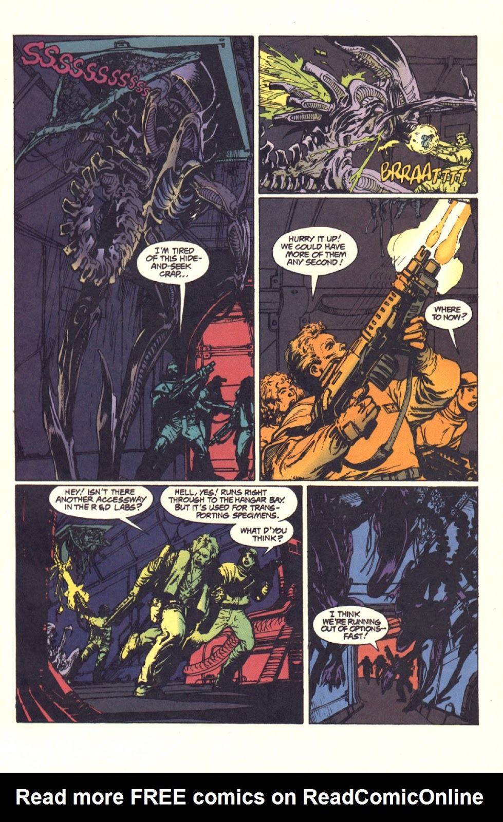 Read online Aliens: Rogue comic -  Issue #1 - 88