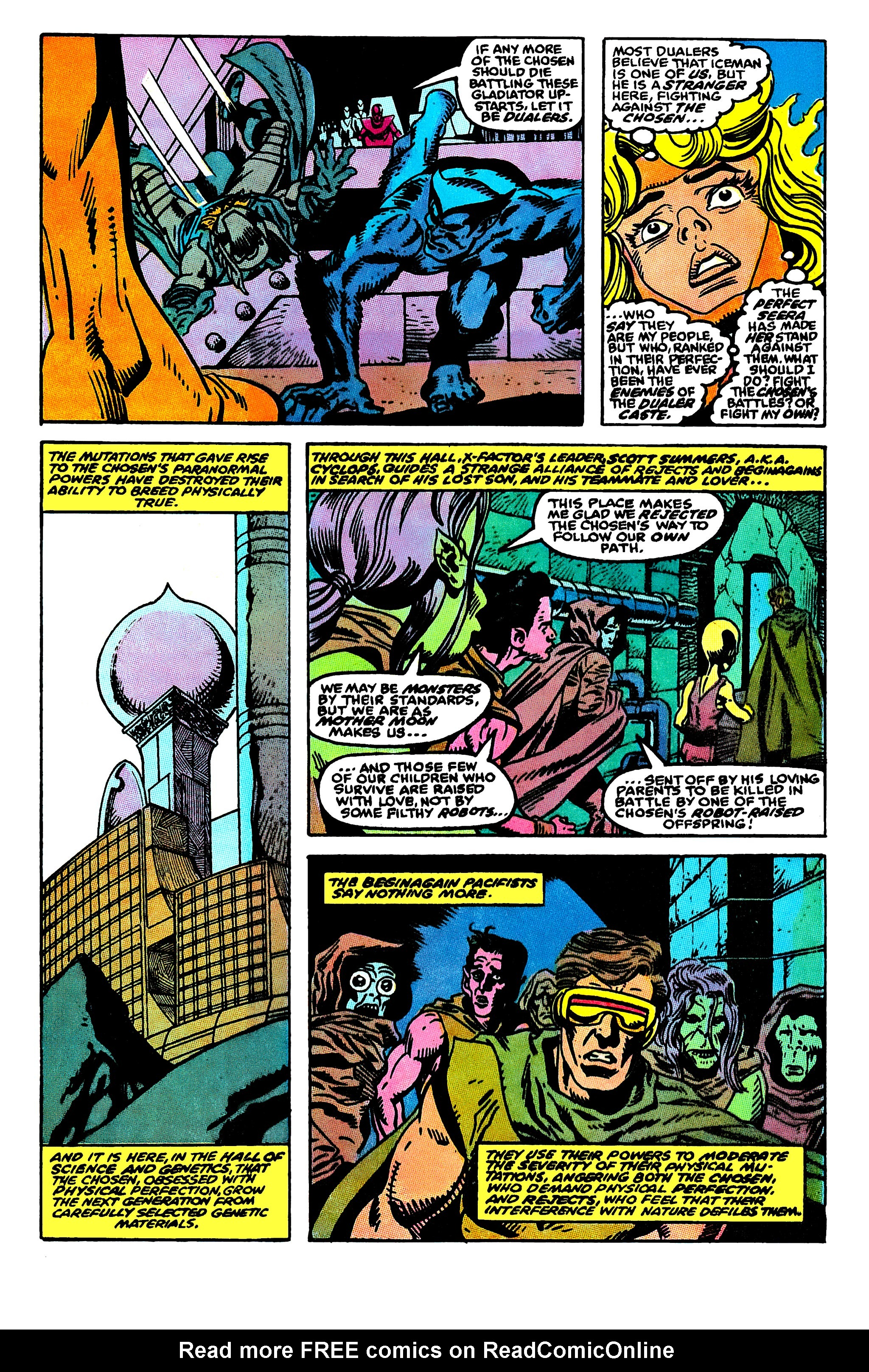 Read online X-Factor (1986) comic -  Issue #50 - 6