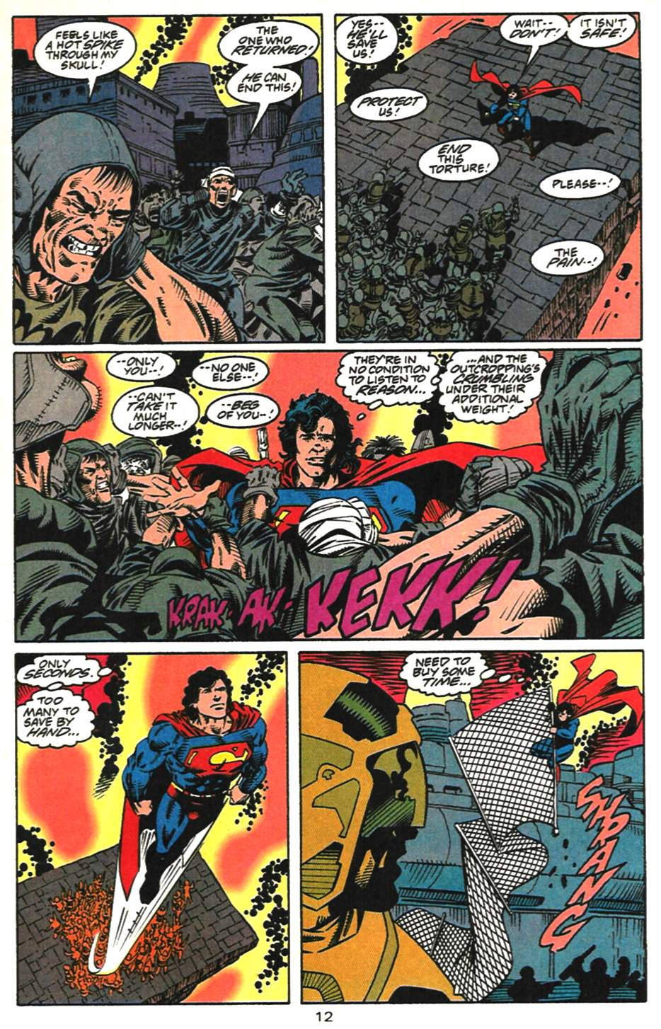 Read online Adventures of Superman (1987) comic -  Issue #518 - 13